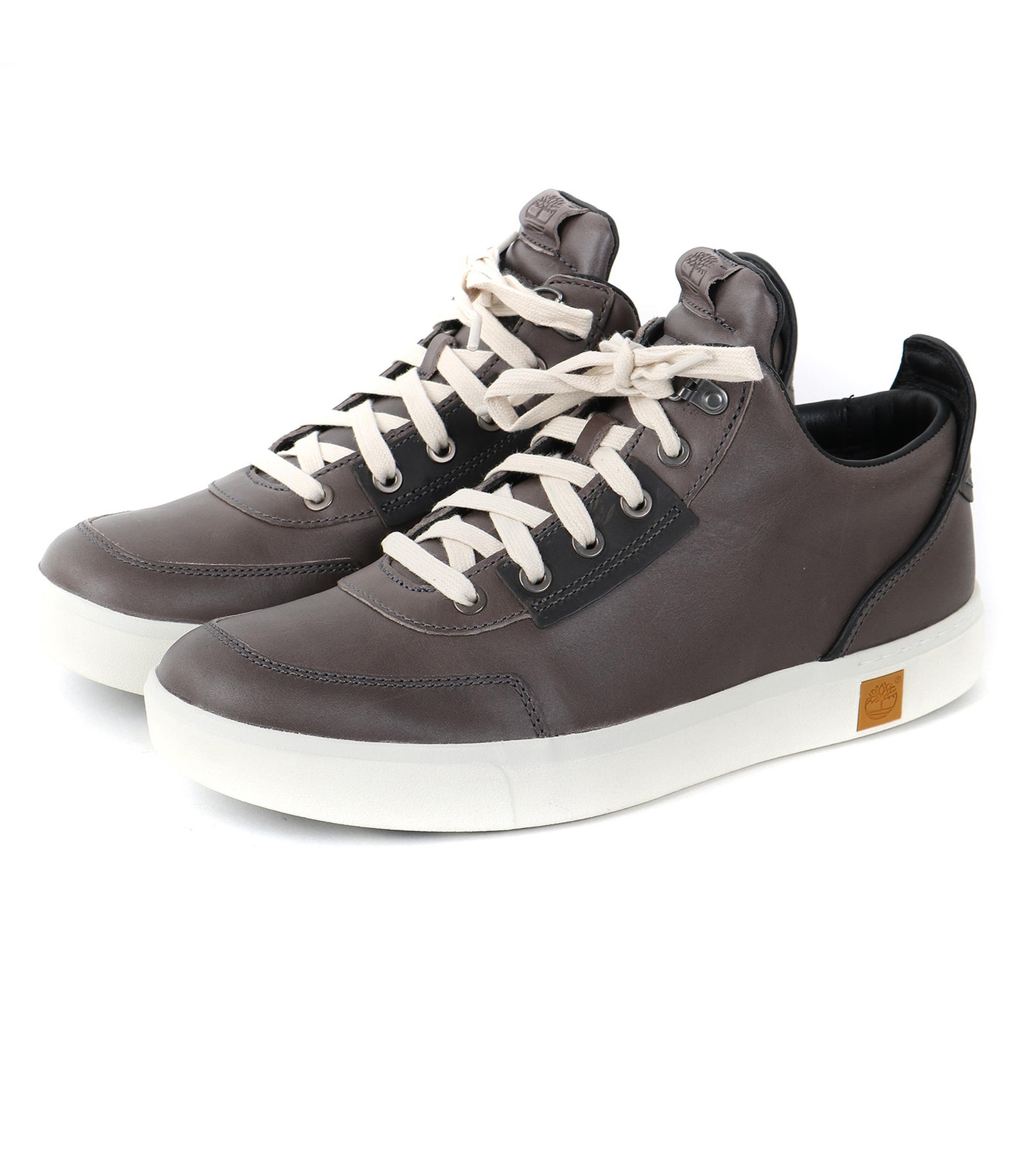 Timberland Gris Timberland Chaussures Chukka Amherst Haut Top cGWHbs