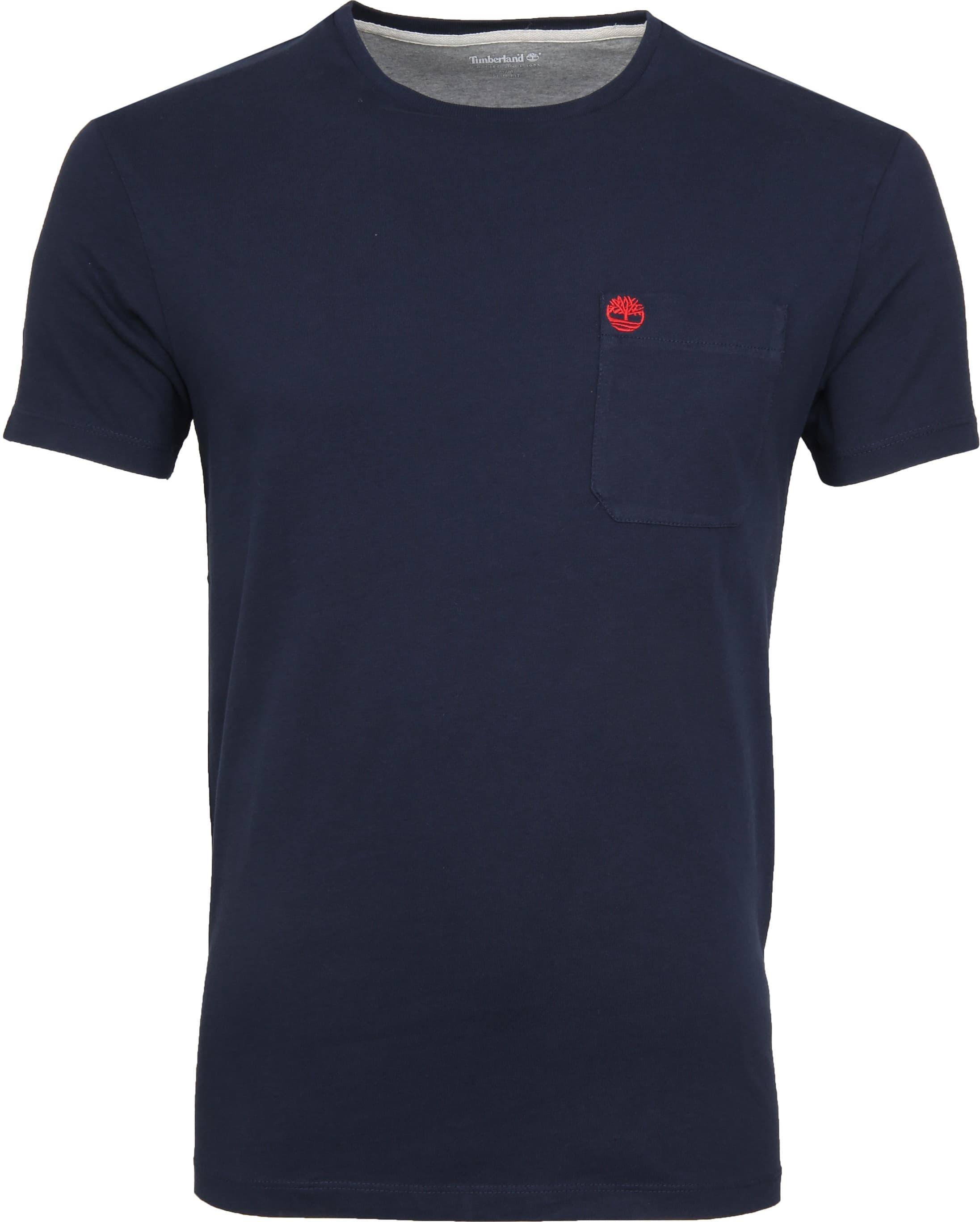 Timberland Dunstan T-shirt Navy foto 0