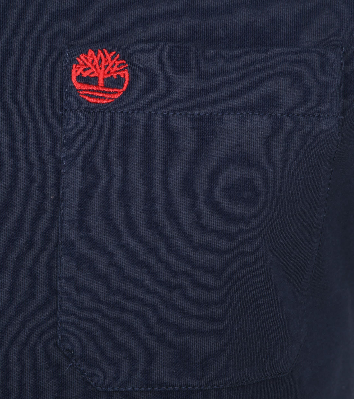 Timberland Dunstan T-shirt Navy foto 1