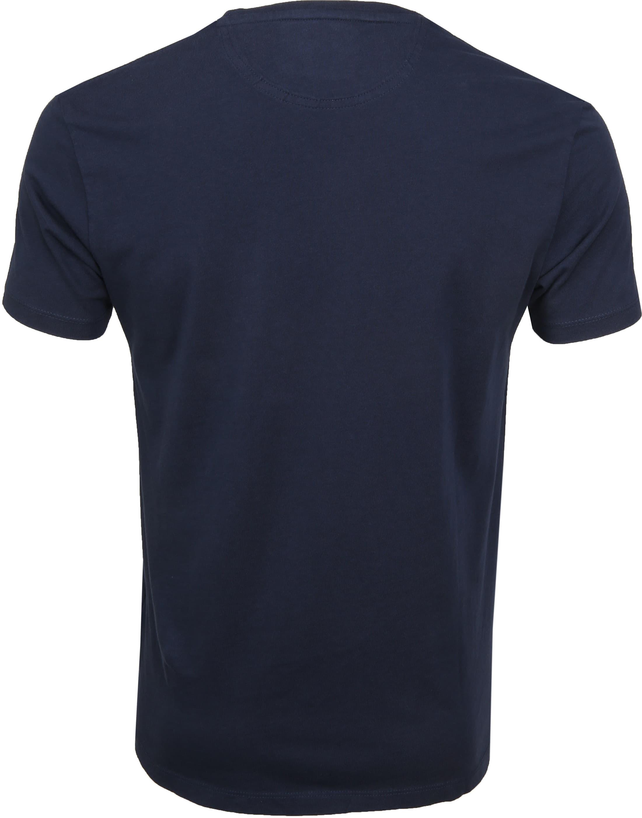Timberland Dunstan T-shirt Navy foto 2
