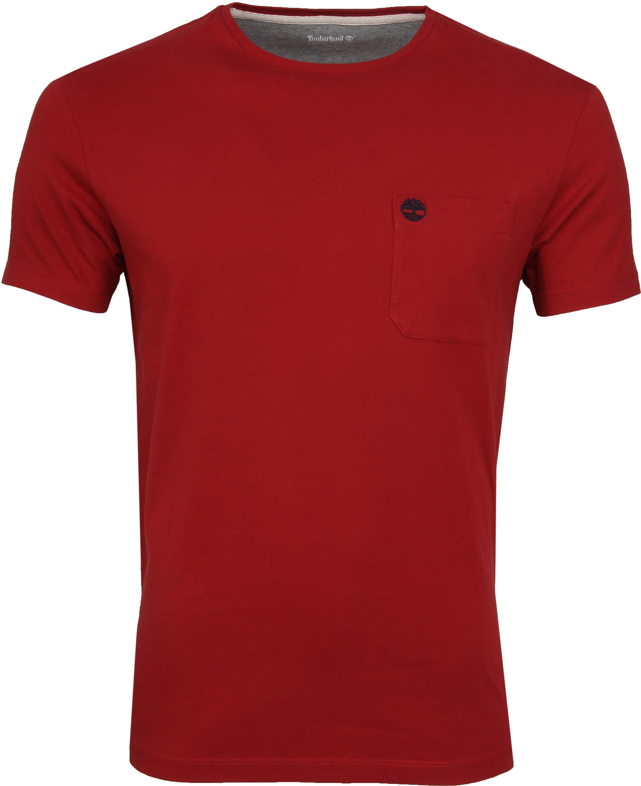 Timberland Dunstan T-shirt Red foto 0