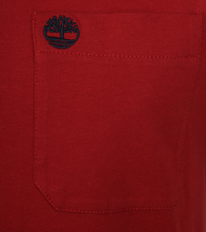 Timberland Dunstan T-shirt Red foto 1