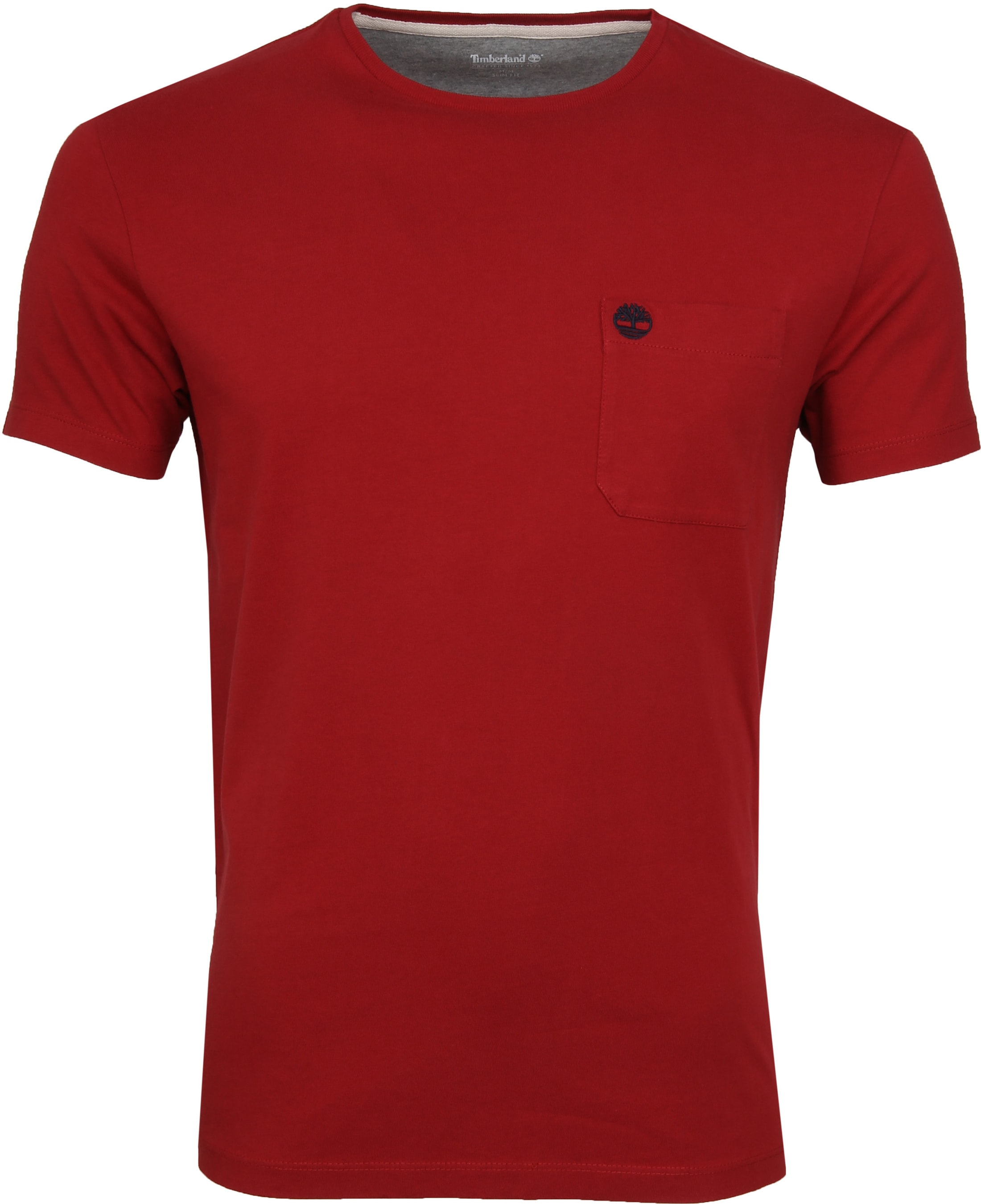 Timberland Dunstan T-shirt Rood foto 0