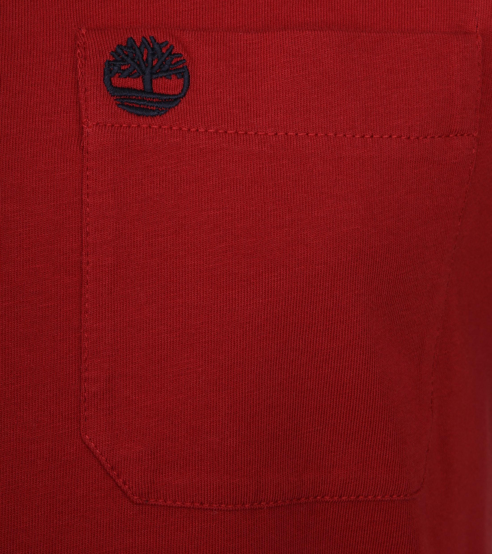 Timberland Dunstan T-shirt Rood foto 1