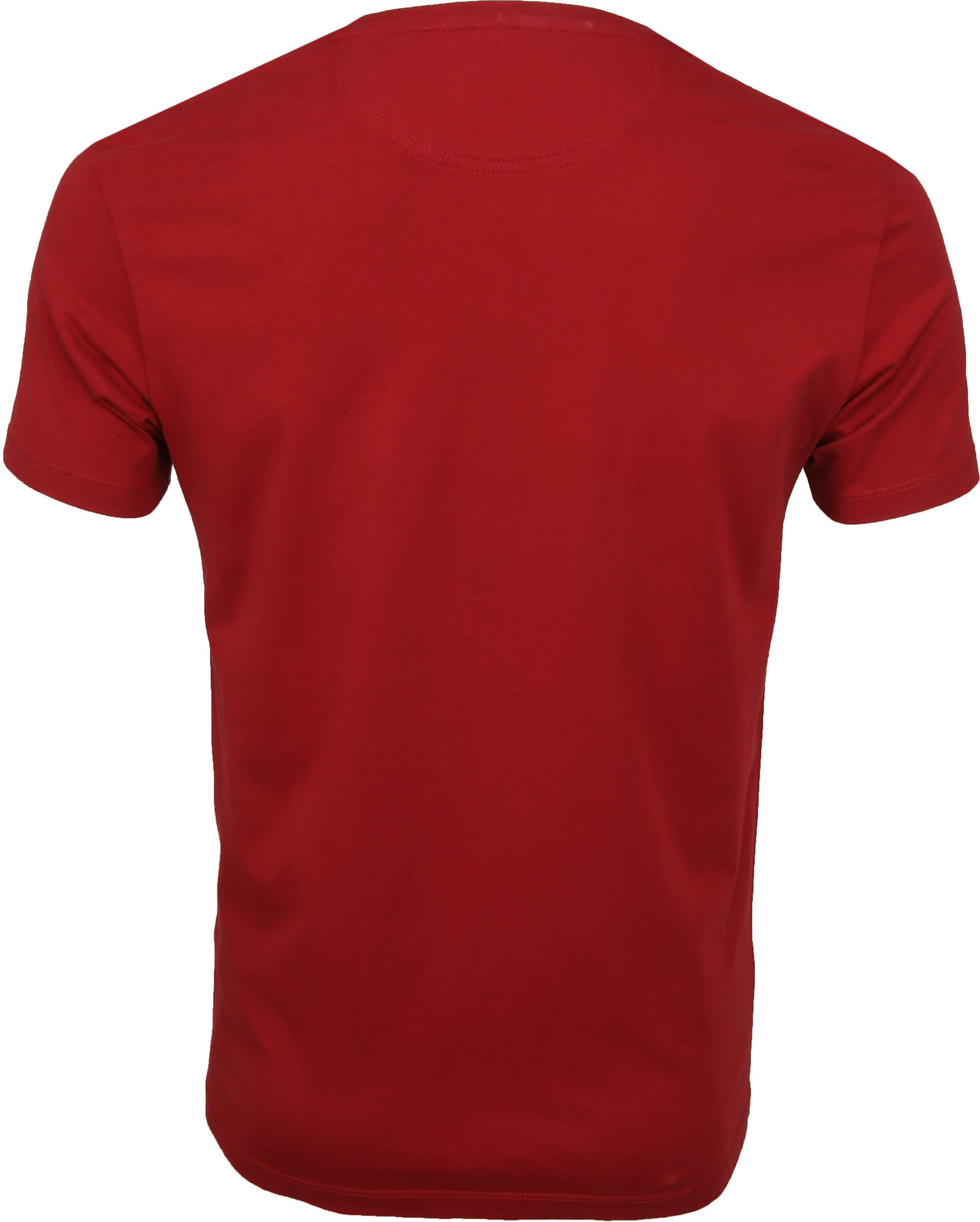 Timberland Dunstan T-shirt Rood foto 2