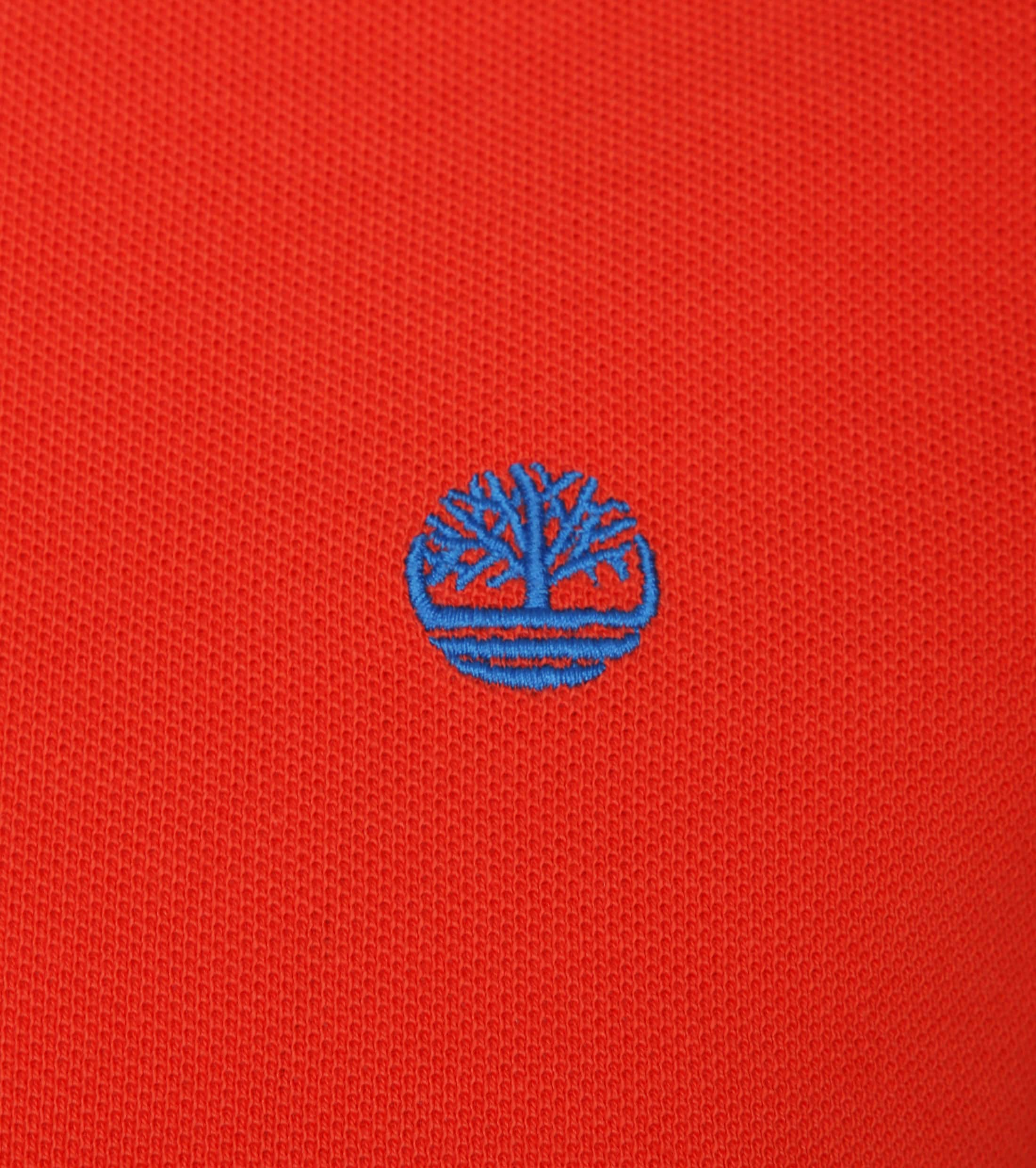 Timberland Miller Polo Uni Rood foto 1