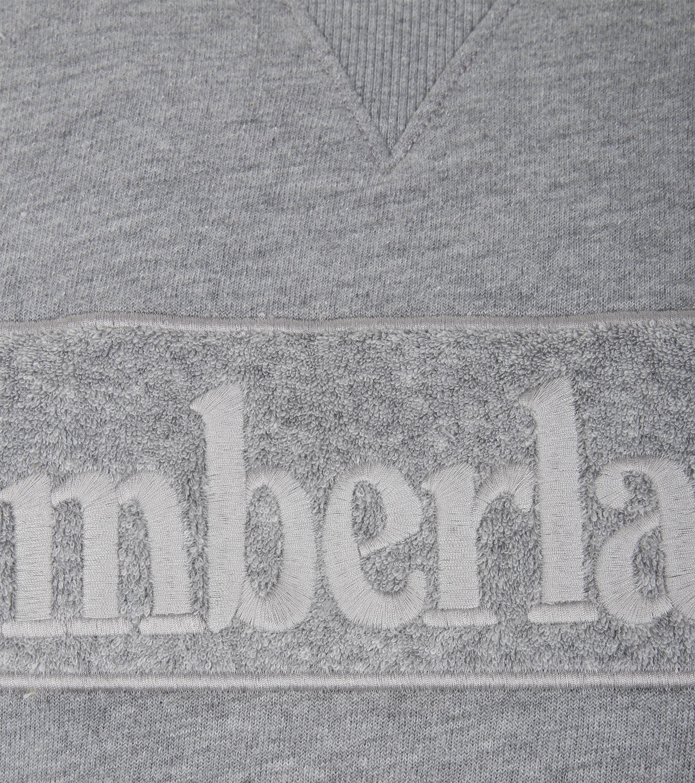 Timberland Sweater Grau Logo foto 1