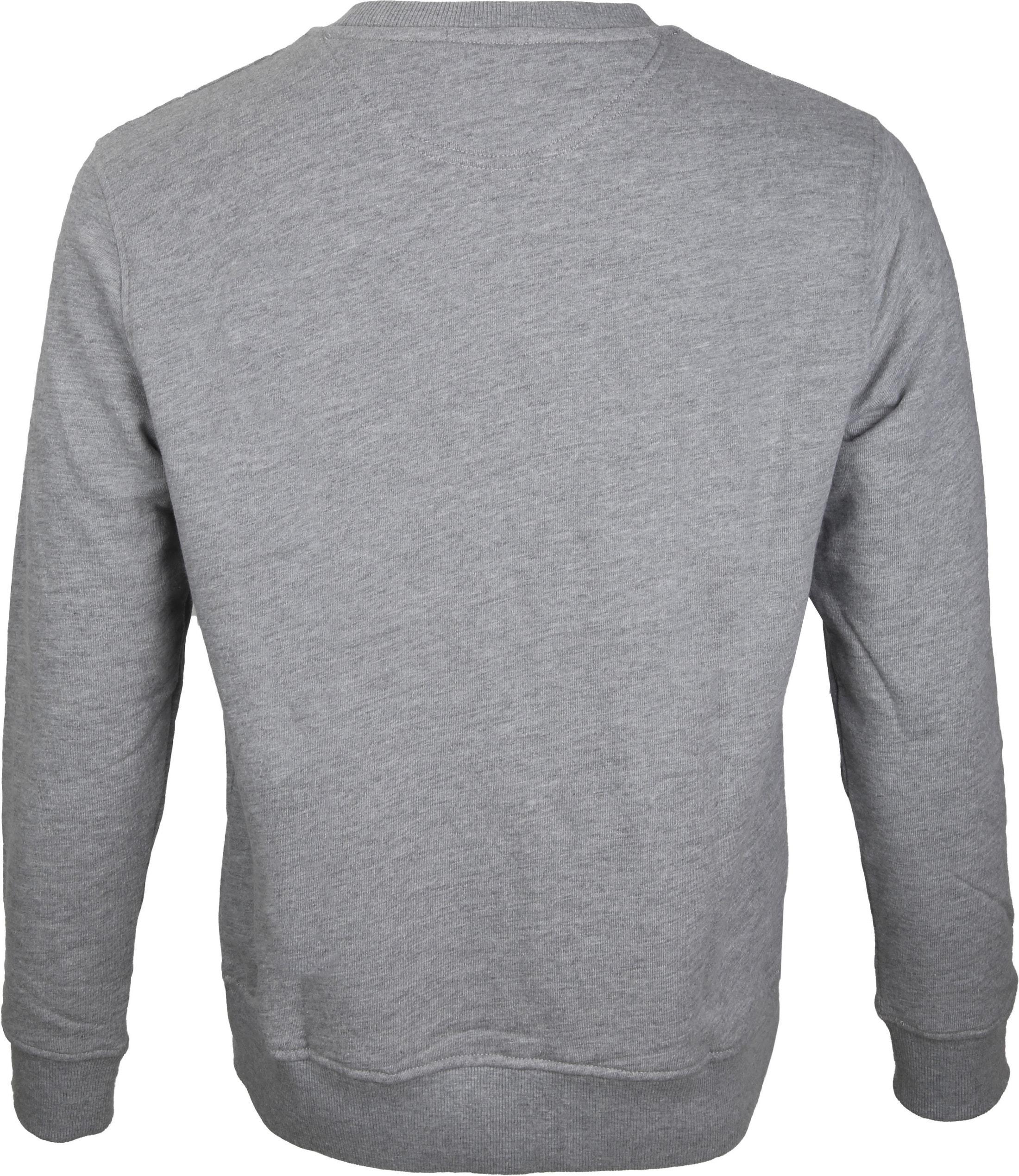 Timberland Sweater Grau Logo foto 2