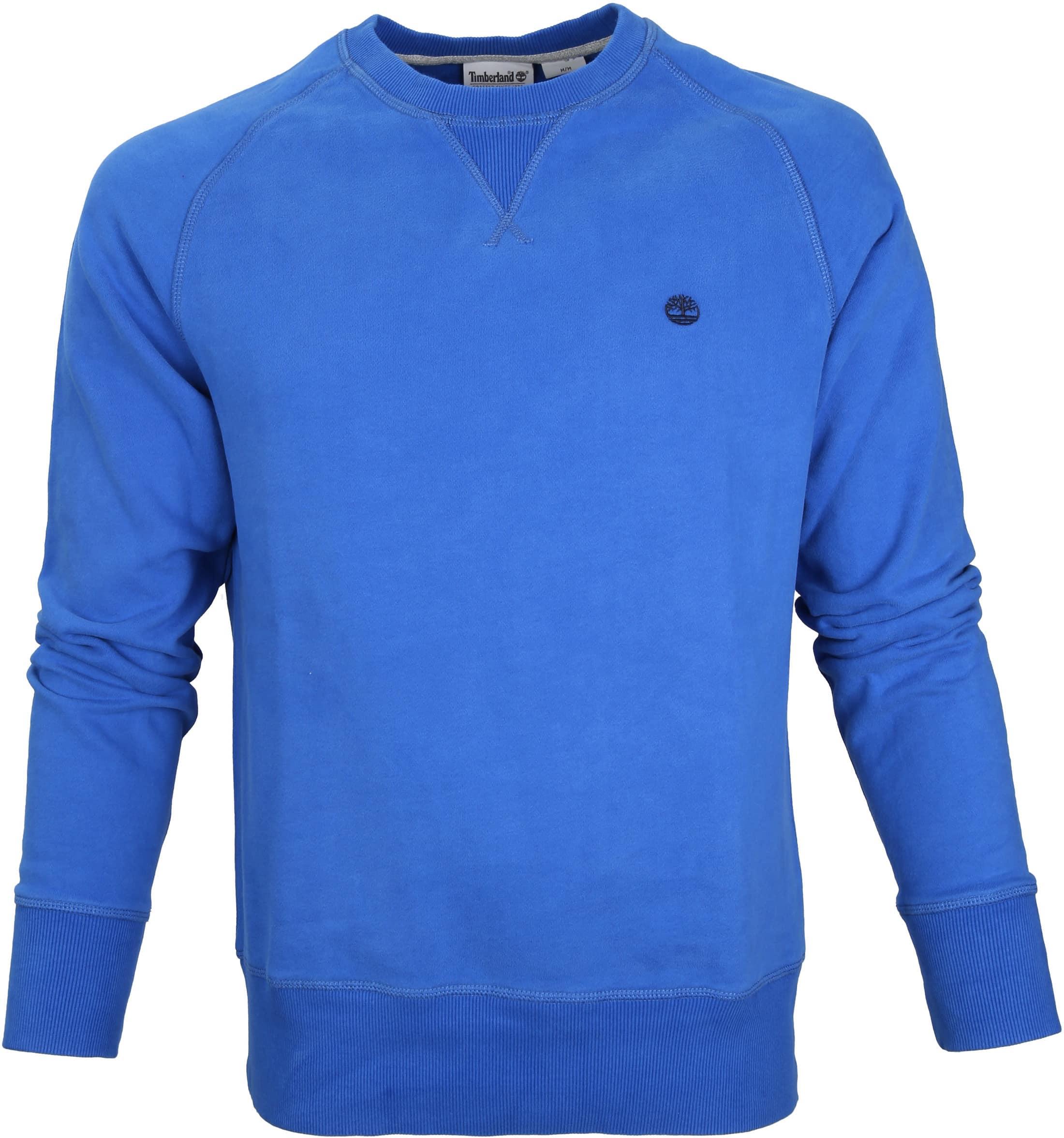 Timberland Sweater Mid Blauw foto 0