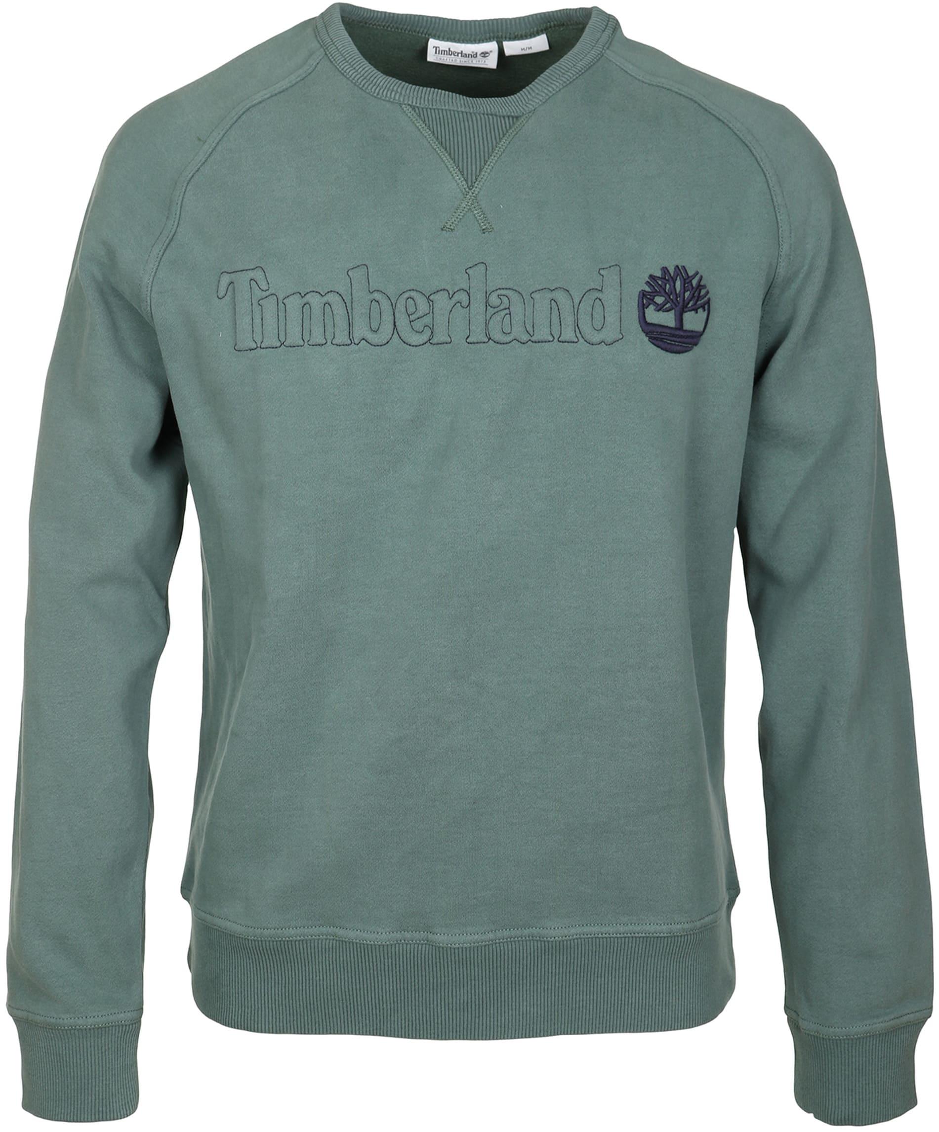 Timberland Sweatshirt Grün Raglan foto 0