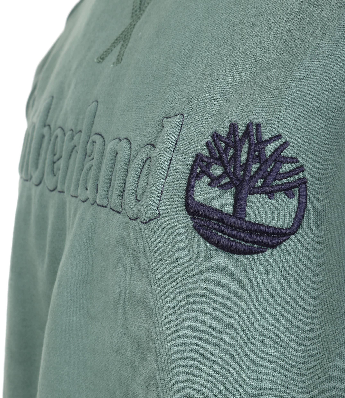 Timberland Sweatshirt Grün Raglan foto 1
