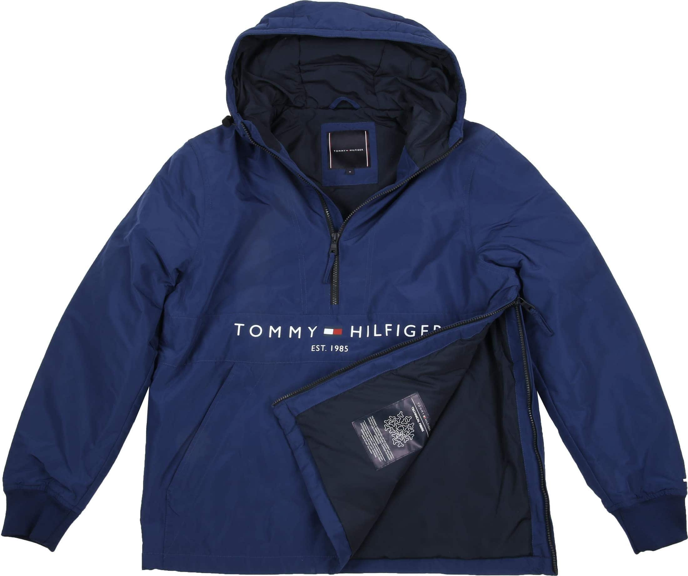 Tommy Hilfiger Anorak Padded Blue foto 5