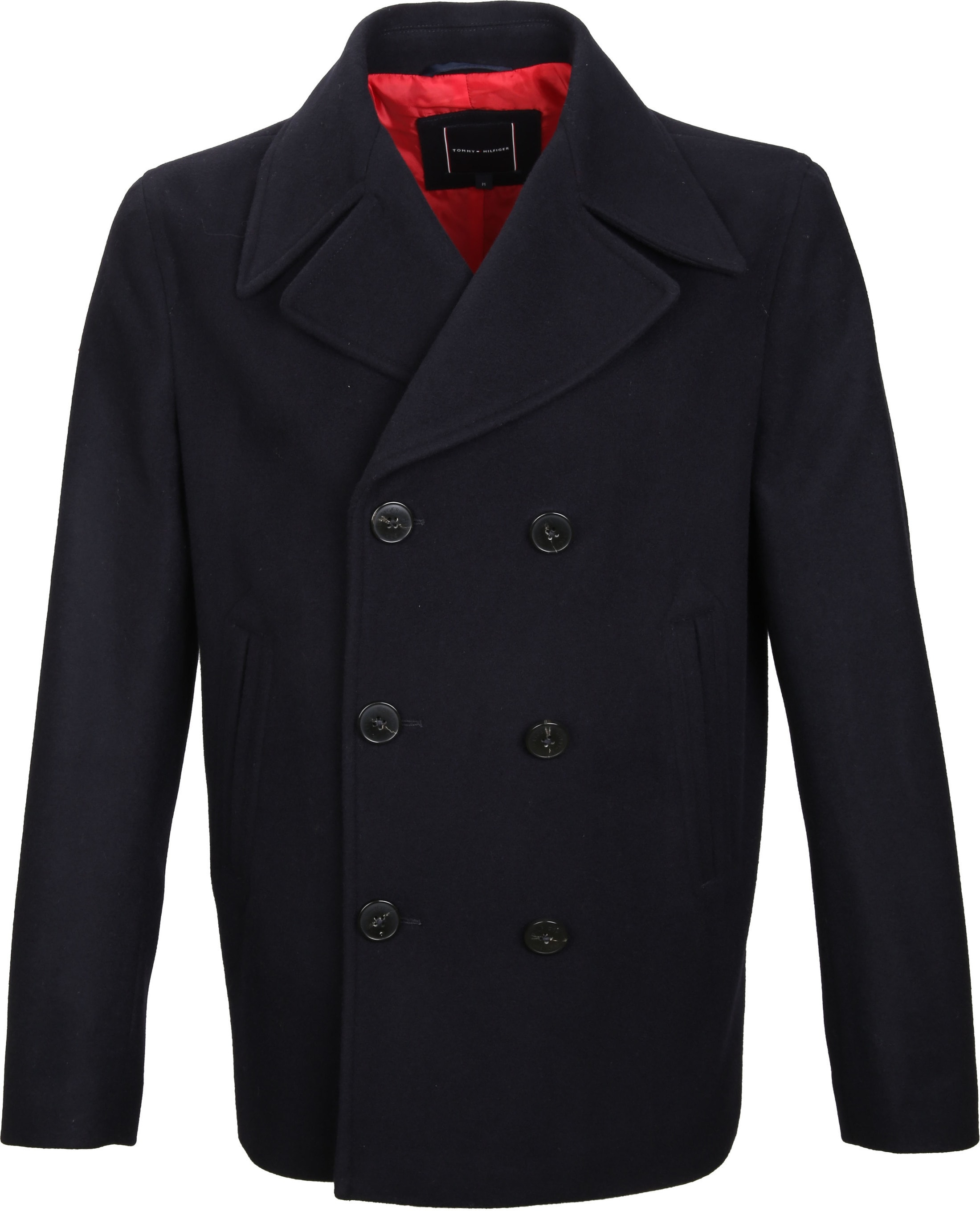 Tommy Hilfiger Coat Navy foto 0