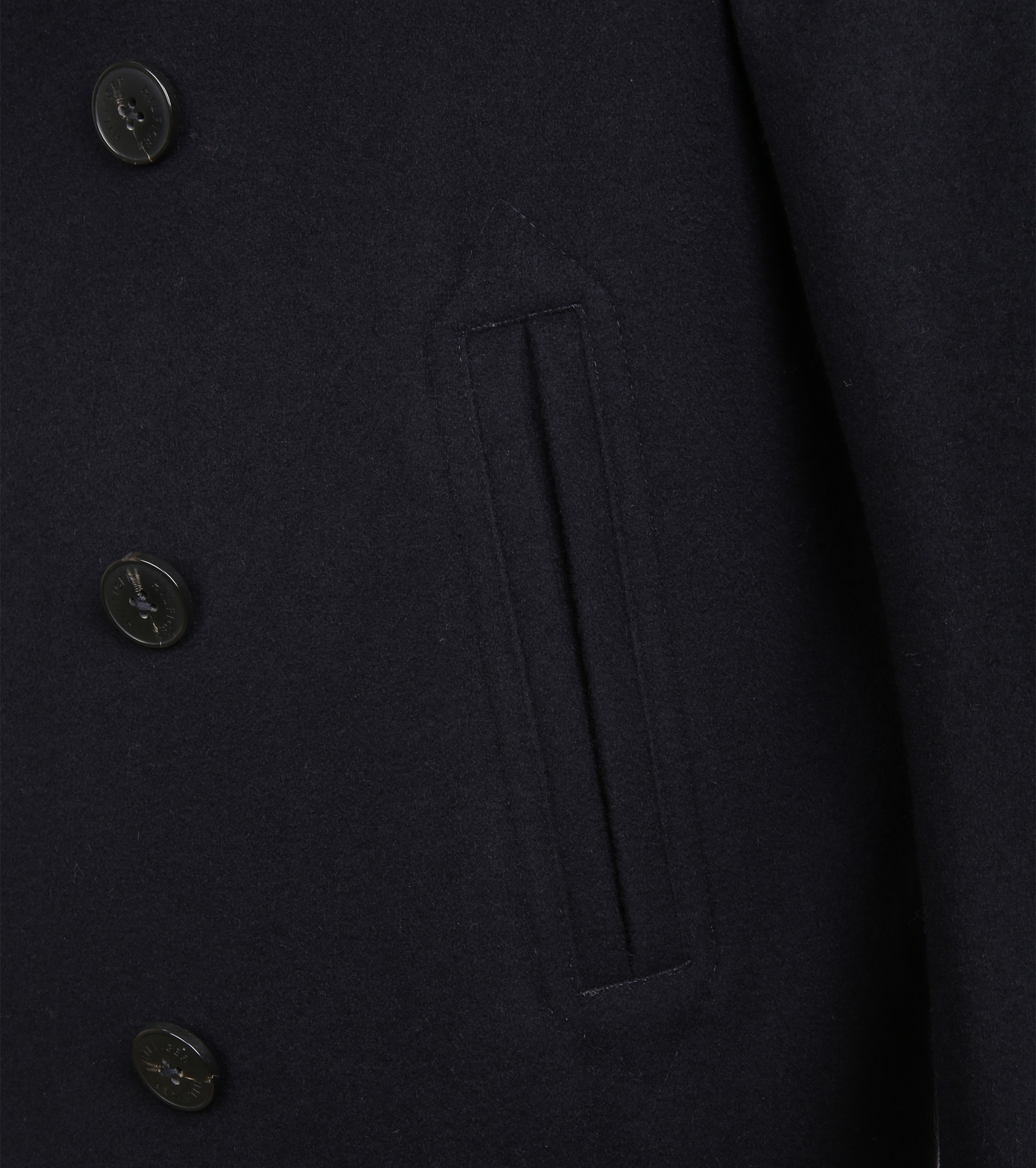 Tommy Hilfiger Coat Navy foto 2