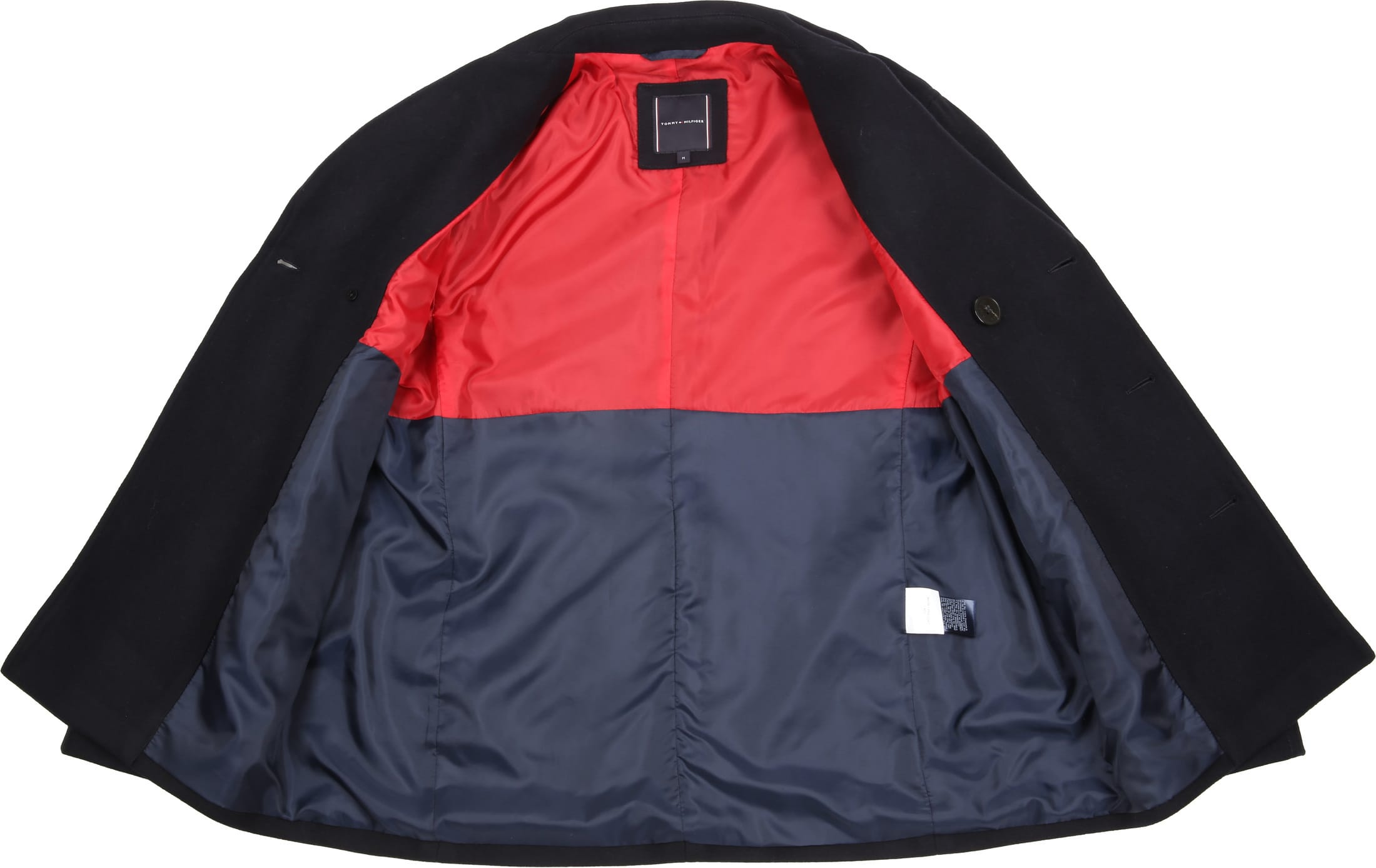Tommy Hilfiger Coat Navy foto 5