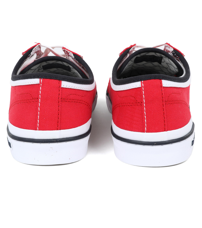 Tommy Hilfiger Core Corporate Sneaker Rood foto 3