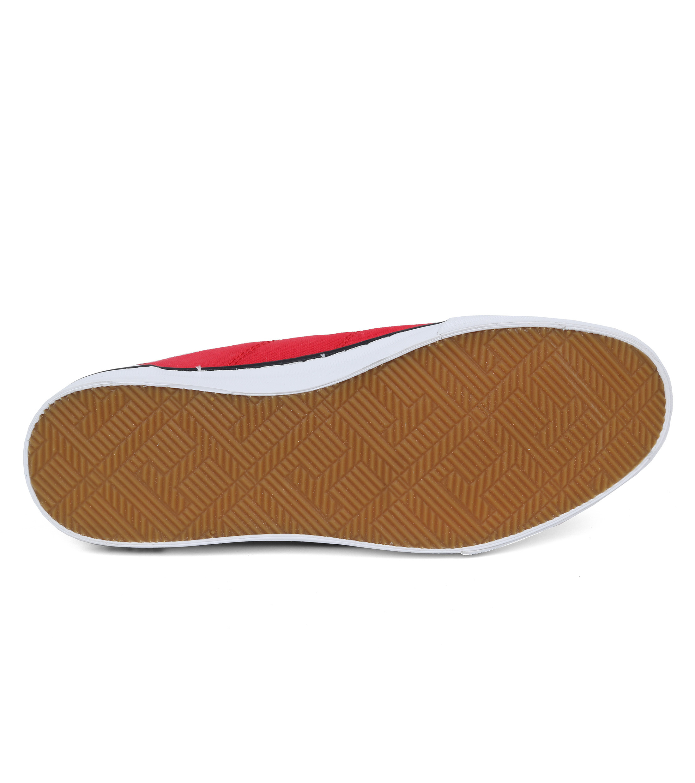 Tommy Hilfiger Core Corporate Sneaker Rood foto 4