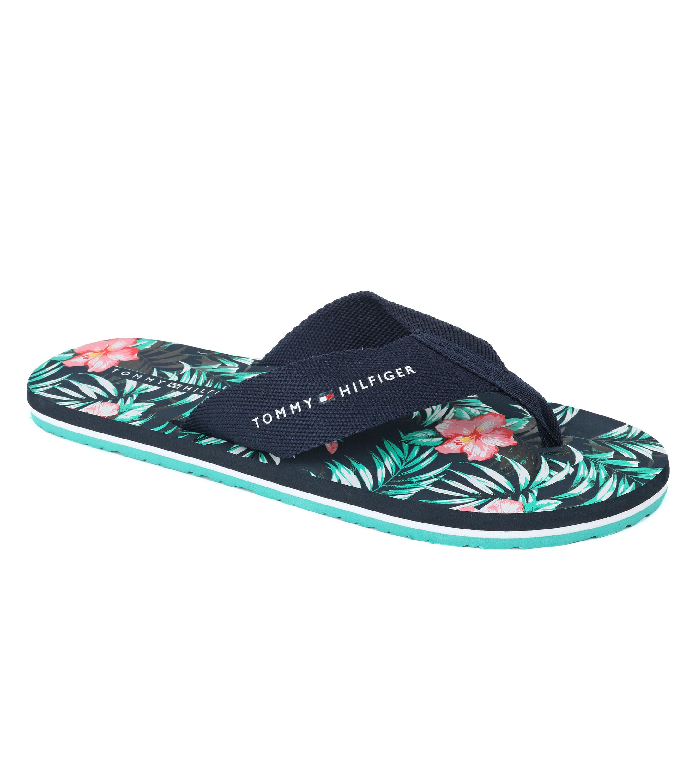 tommy hilfiger flip flops flower fm0fm01593 order online. Black Bedroom Furniture Sets. Home Design Ideas
