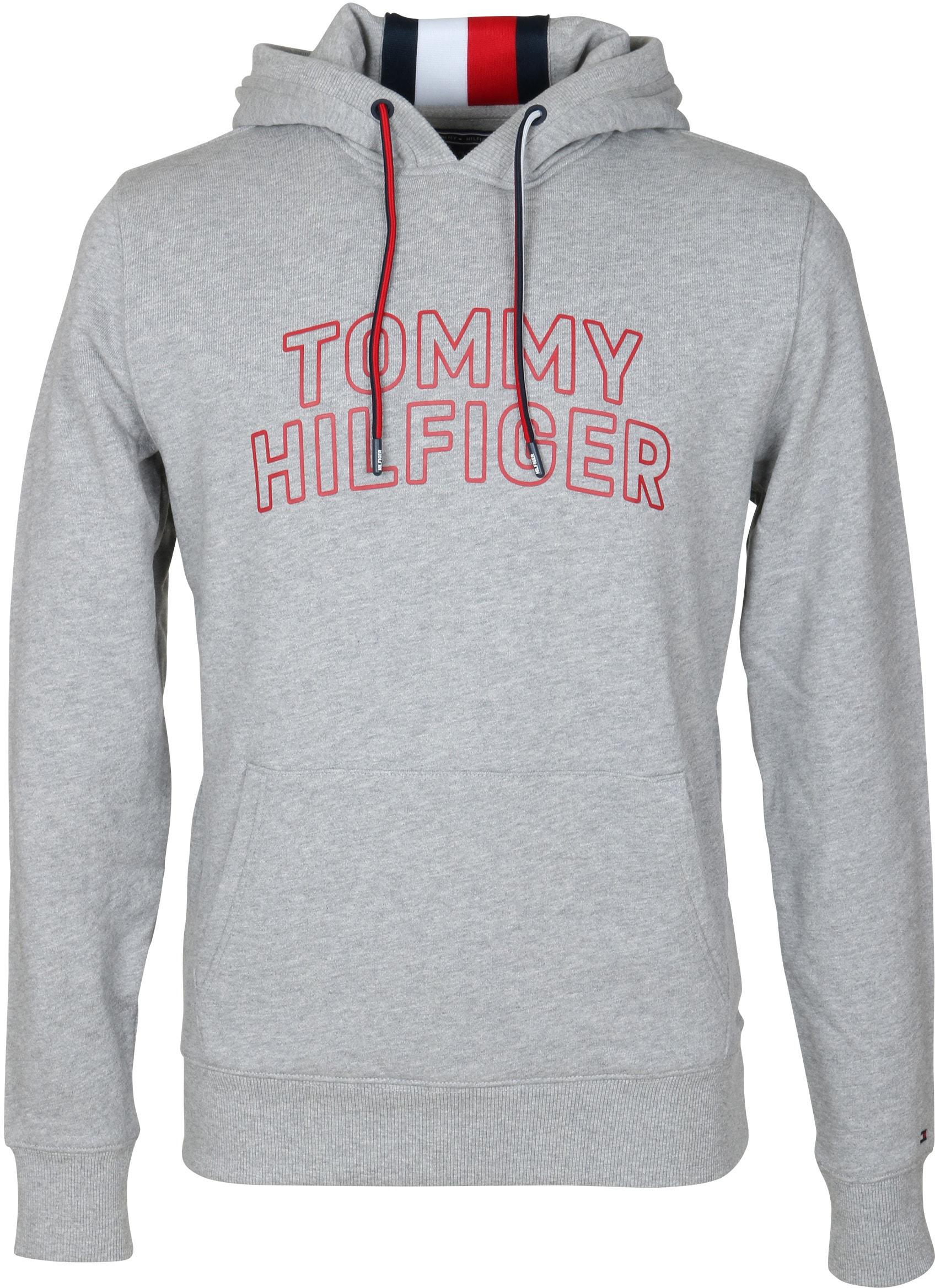 Tommy Hilfiger Hoodie Grau foto 0