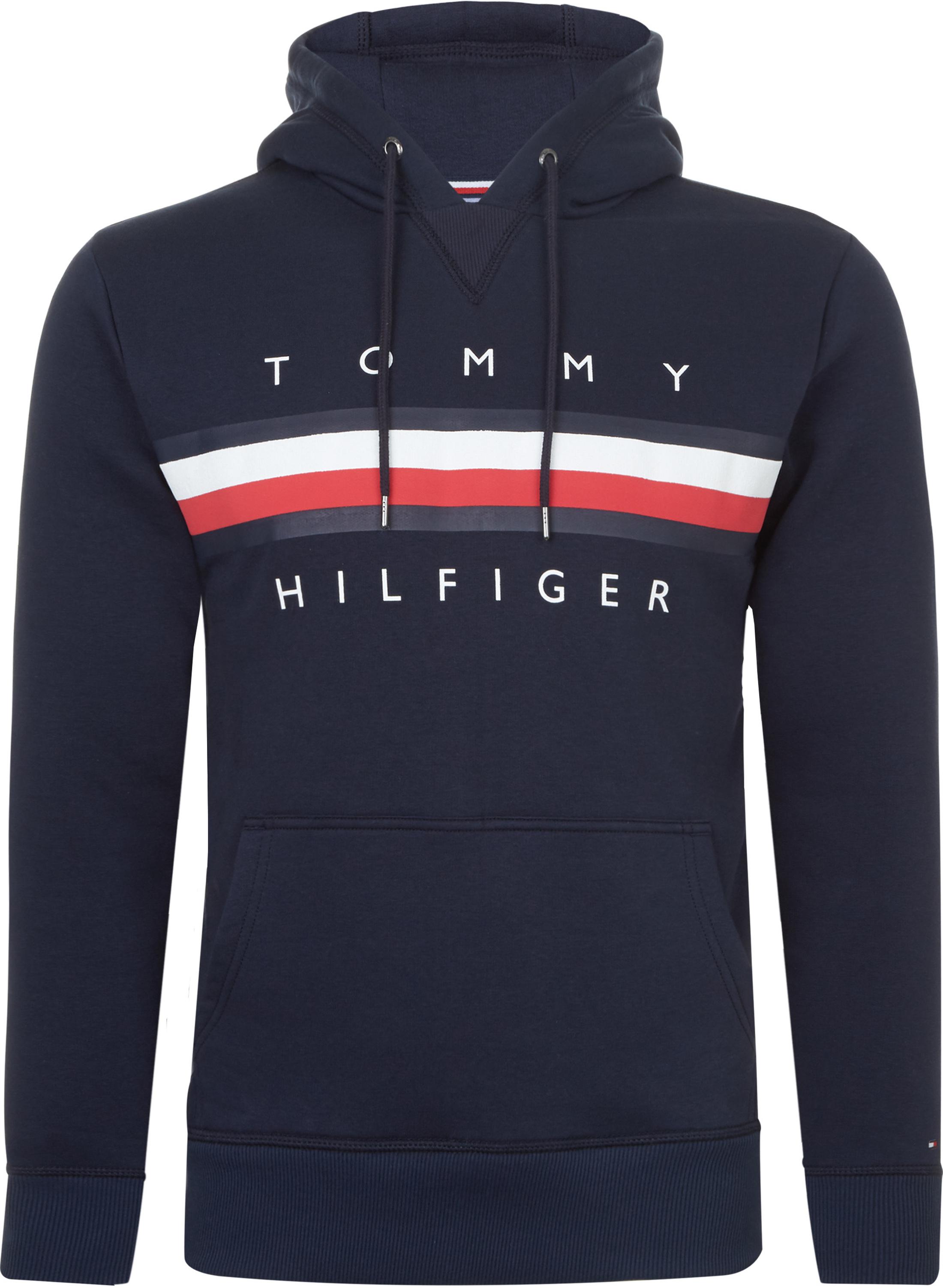 Tommy Hilfiger Hoodie Logo Navy MW0MW07947-416 online bestellen ... a1d33b53ba