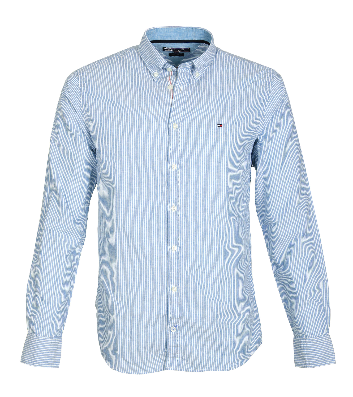 Tommy Hilfiger Overhemd Strepen Blauw foto 0