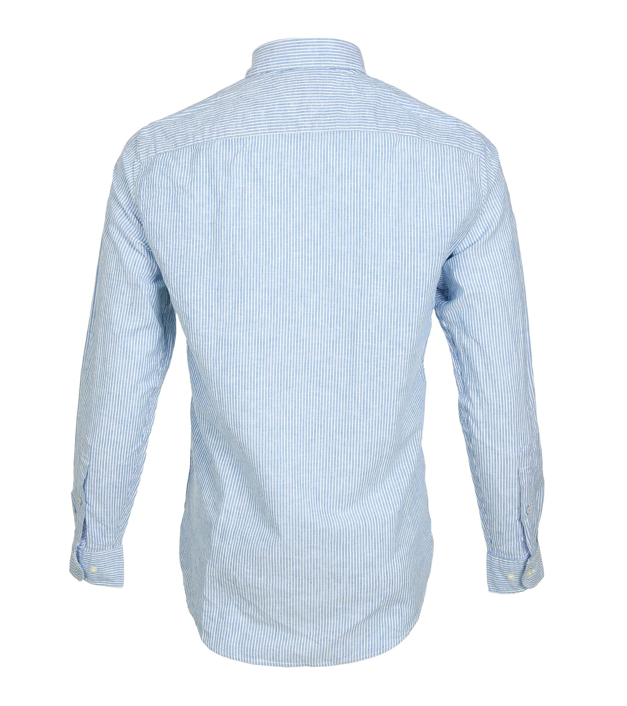 Tommy Hilfiger Overhemd Strepen Blauw foto 2