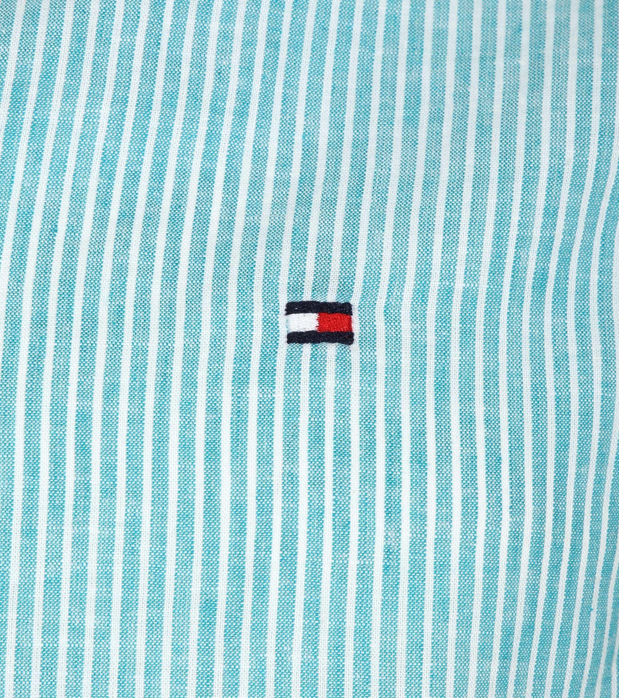 Tommy Hilfiger Overhemd Strepen Groen foto 1