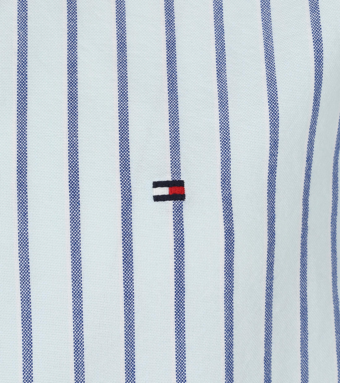 Tommy Hilfiger Oxford Overhemd Strepen Lichtblauw