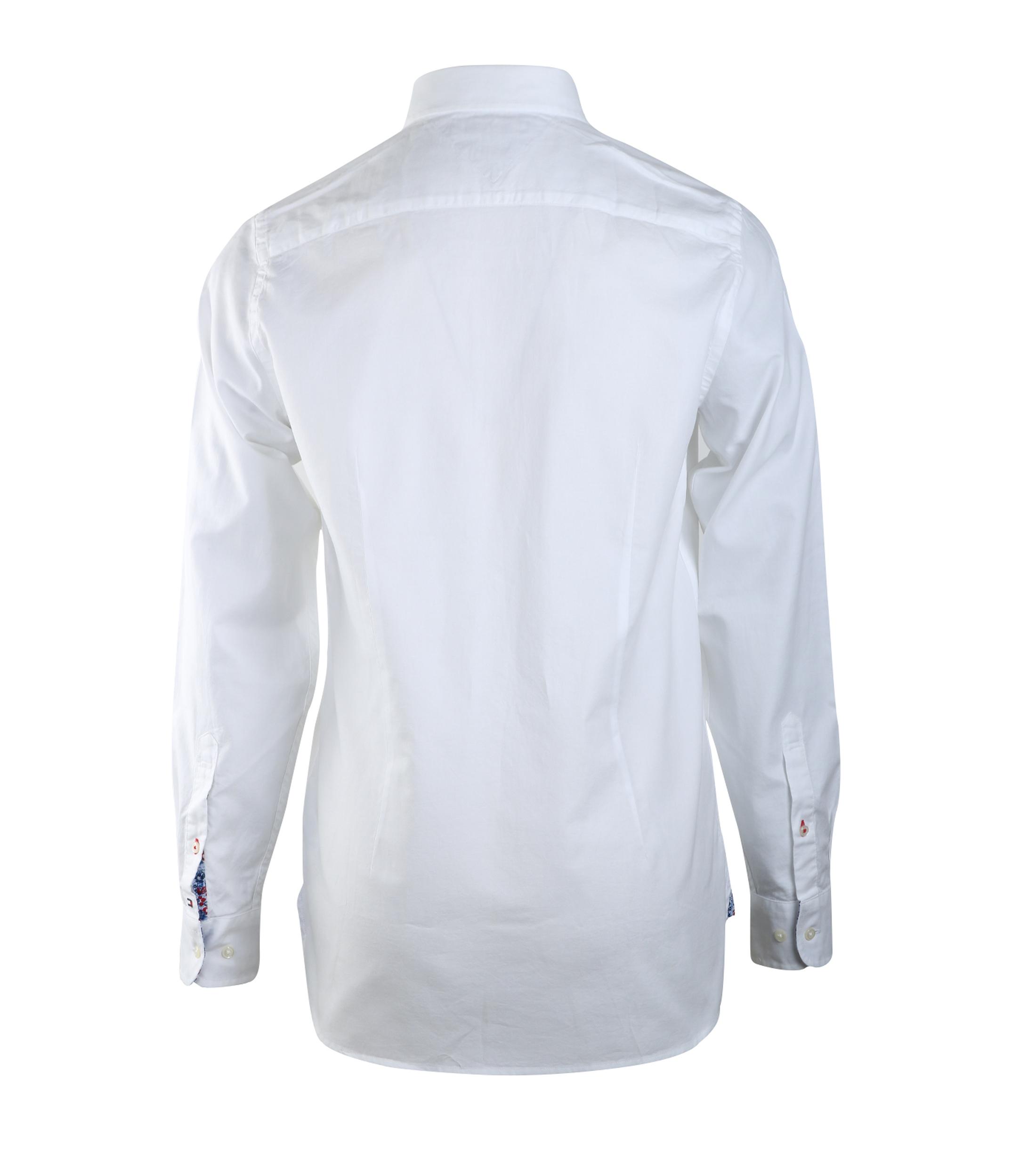 Tommy Hilfiger Oxford Shirt Wit foto 1