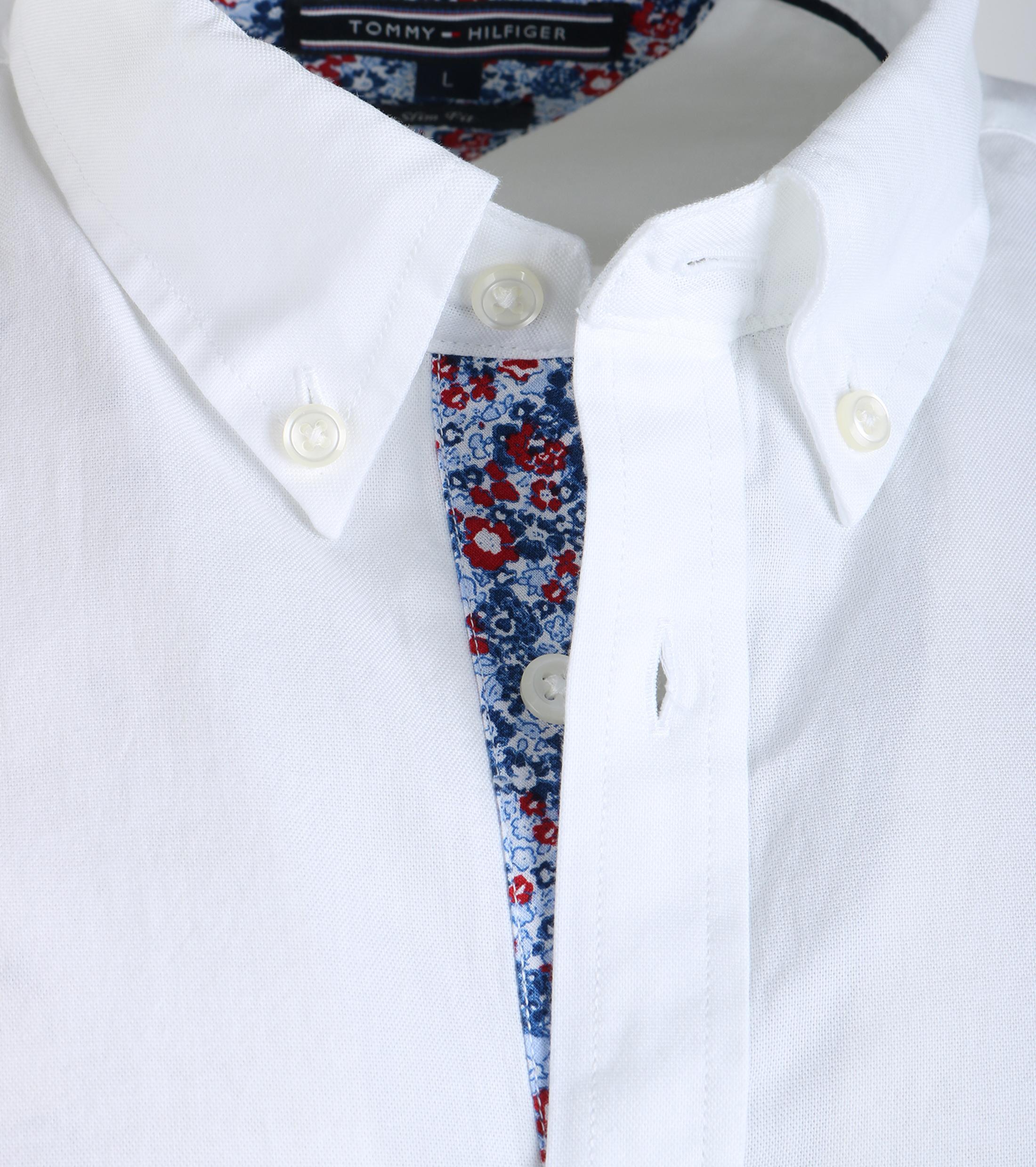 Tommy Hilfiger Oxford Shirt Wit foto 4