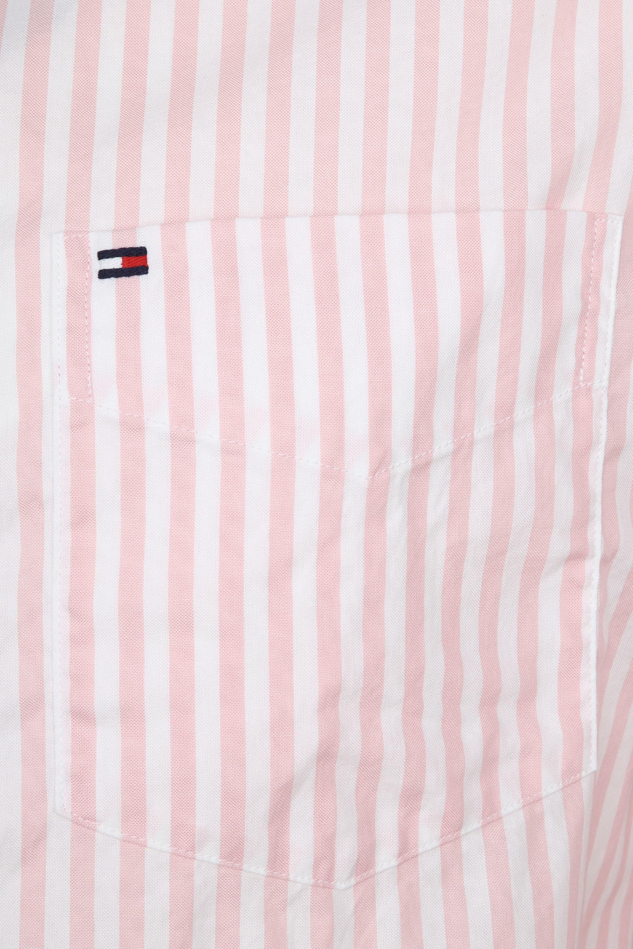 Tommy Hilfiger Oxford Strepen Overhemd Roze foto 1