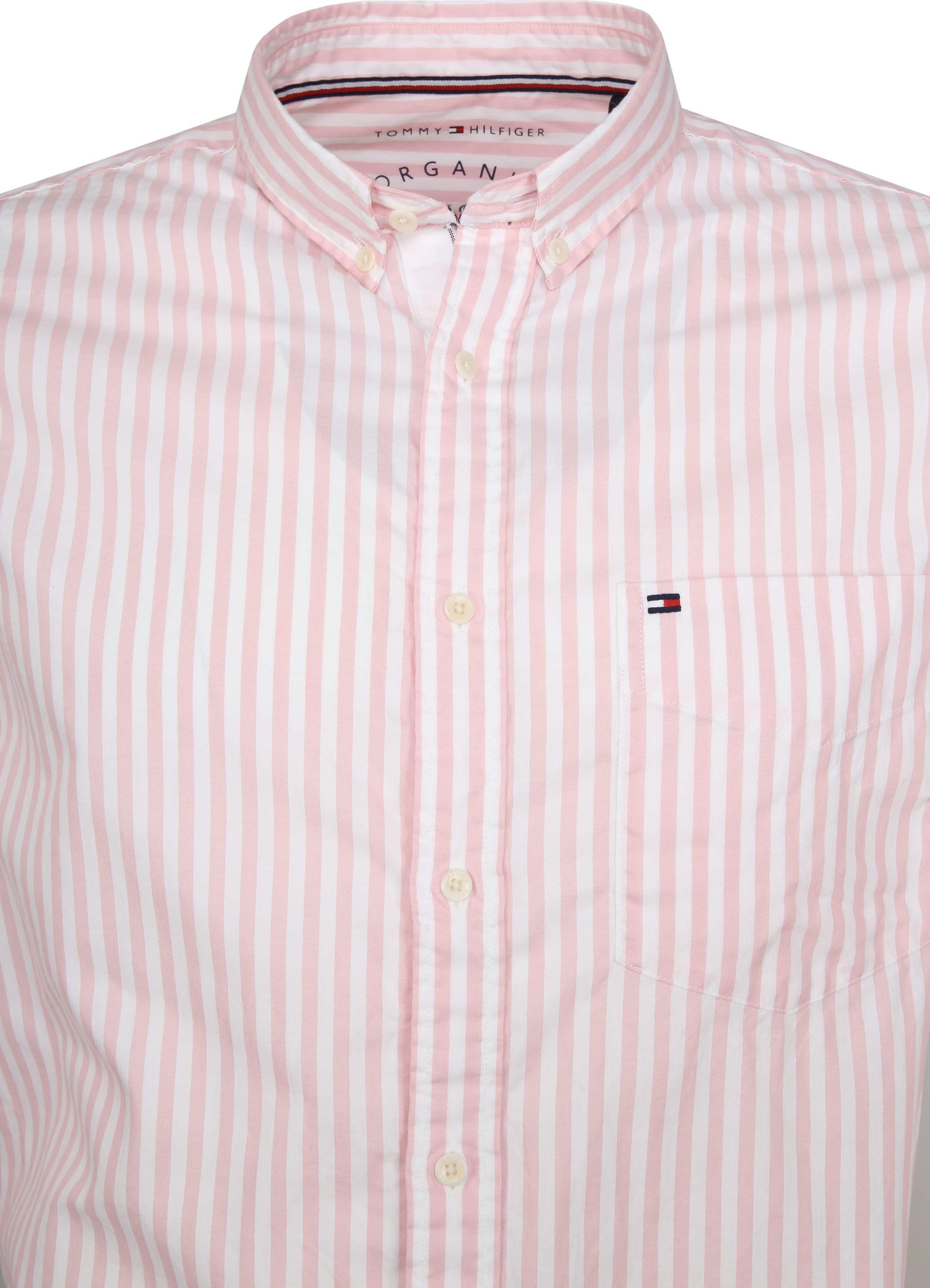 Tommy Hilfiger Oxford Strepen Overhemd Roze foto 2