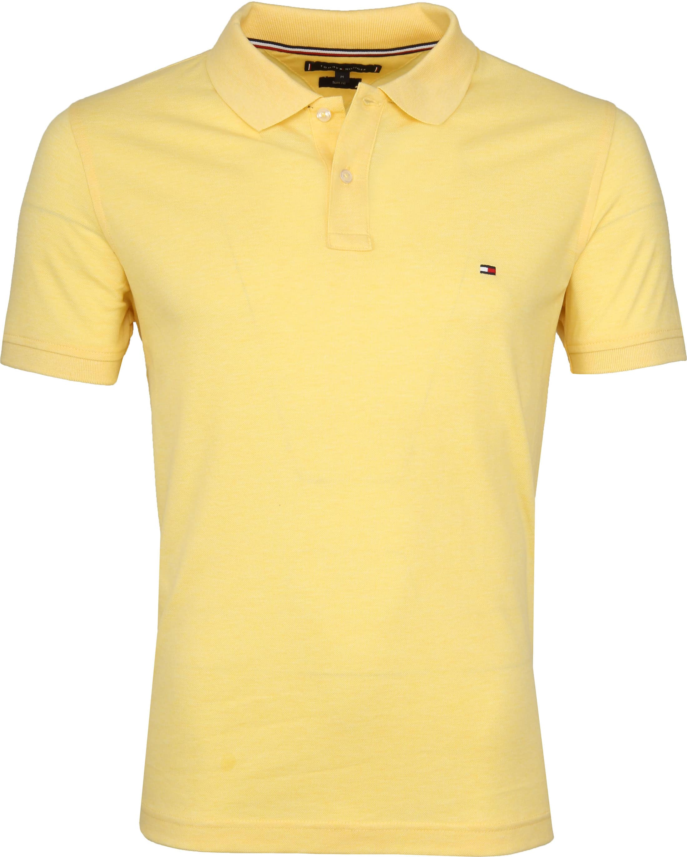 Tommy Hilfiger Polo Delicate Geel