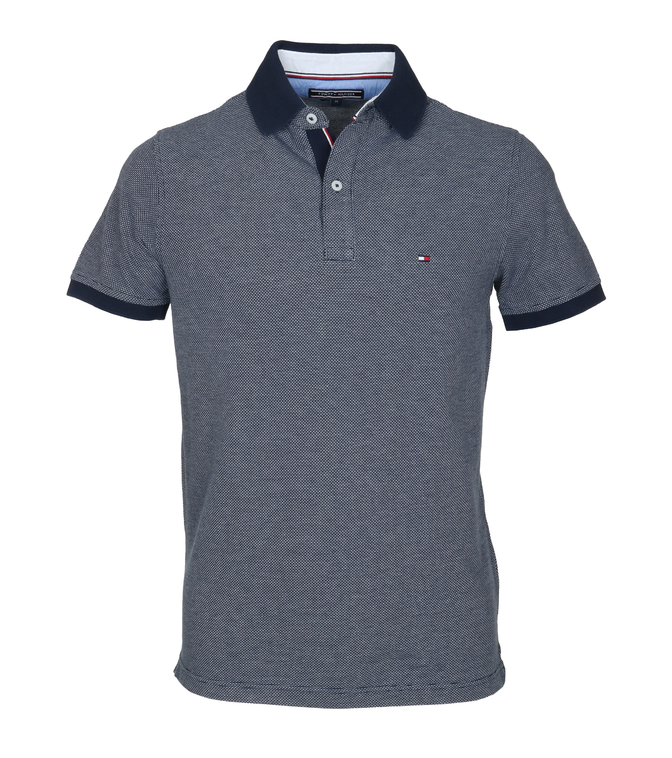 Tommy Hilfiger Polo Jaquard Navy foto 0