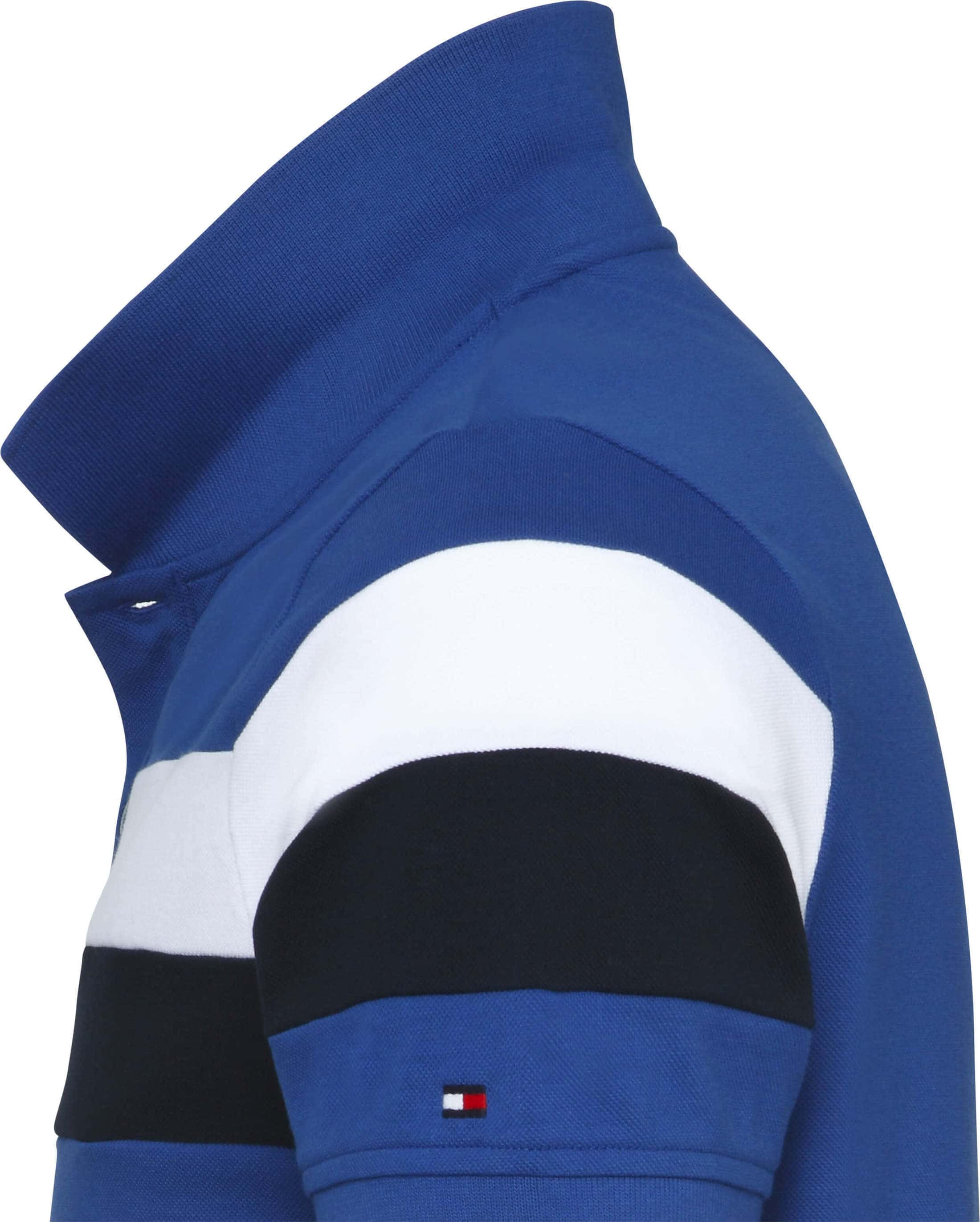 Tommy Hilfiger Polo SF Stripe Mid Blue foto 1