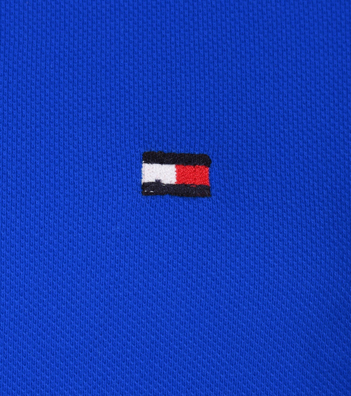 Tommy Hilfiger Polo Uni Blauw foto 1