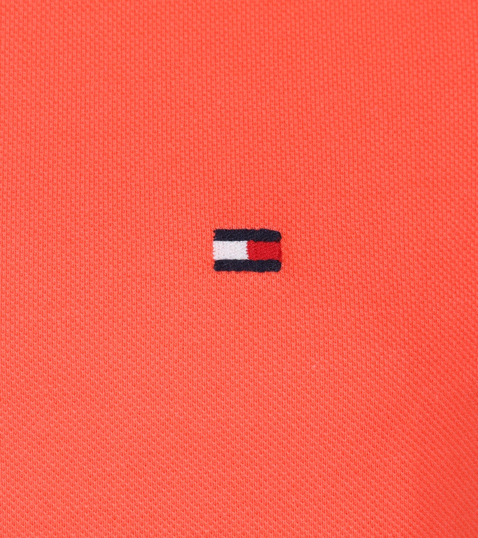 Tommy Hilfiger Polo Uni Oranje foto 1