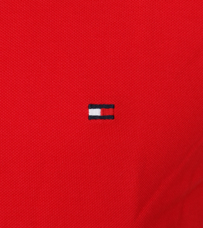 Tommy Hilfiger Polo Uni Rot foto 1