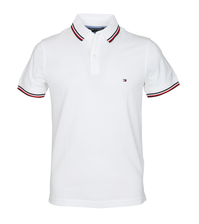83b7ea7ec687 Tommy Hilfiger Polo Uni White order online   Suitable
