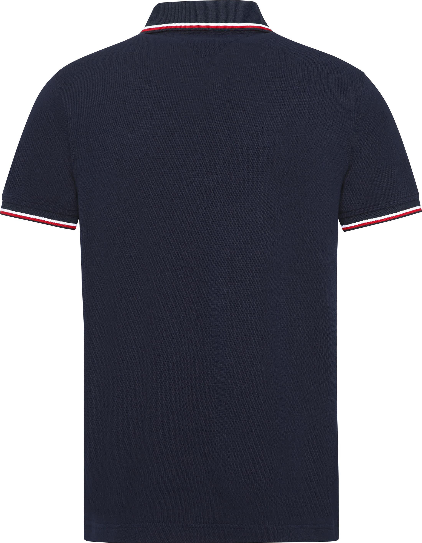 Tommy Hilfiger Poloshirt Stripes Red foto 2