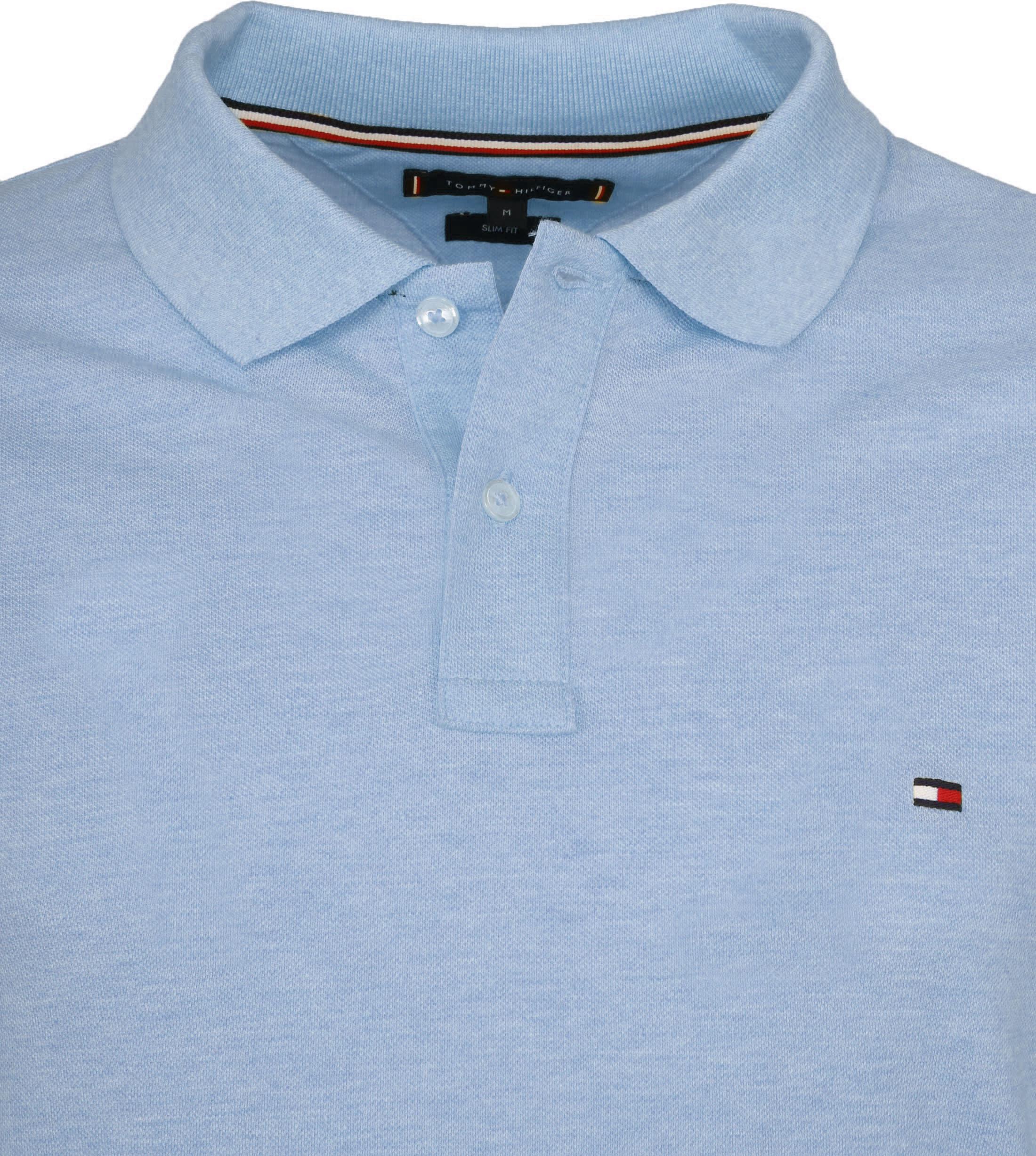 Tommy Hilfiger Poloshirt Sweat Blauw