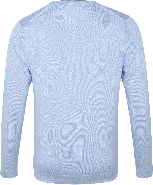 Tommy Hilfiger Pullover Biologisch Katoen Lichtblauw