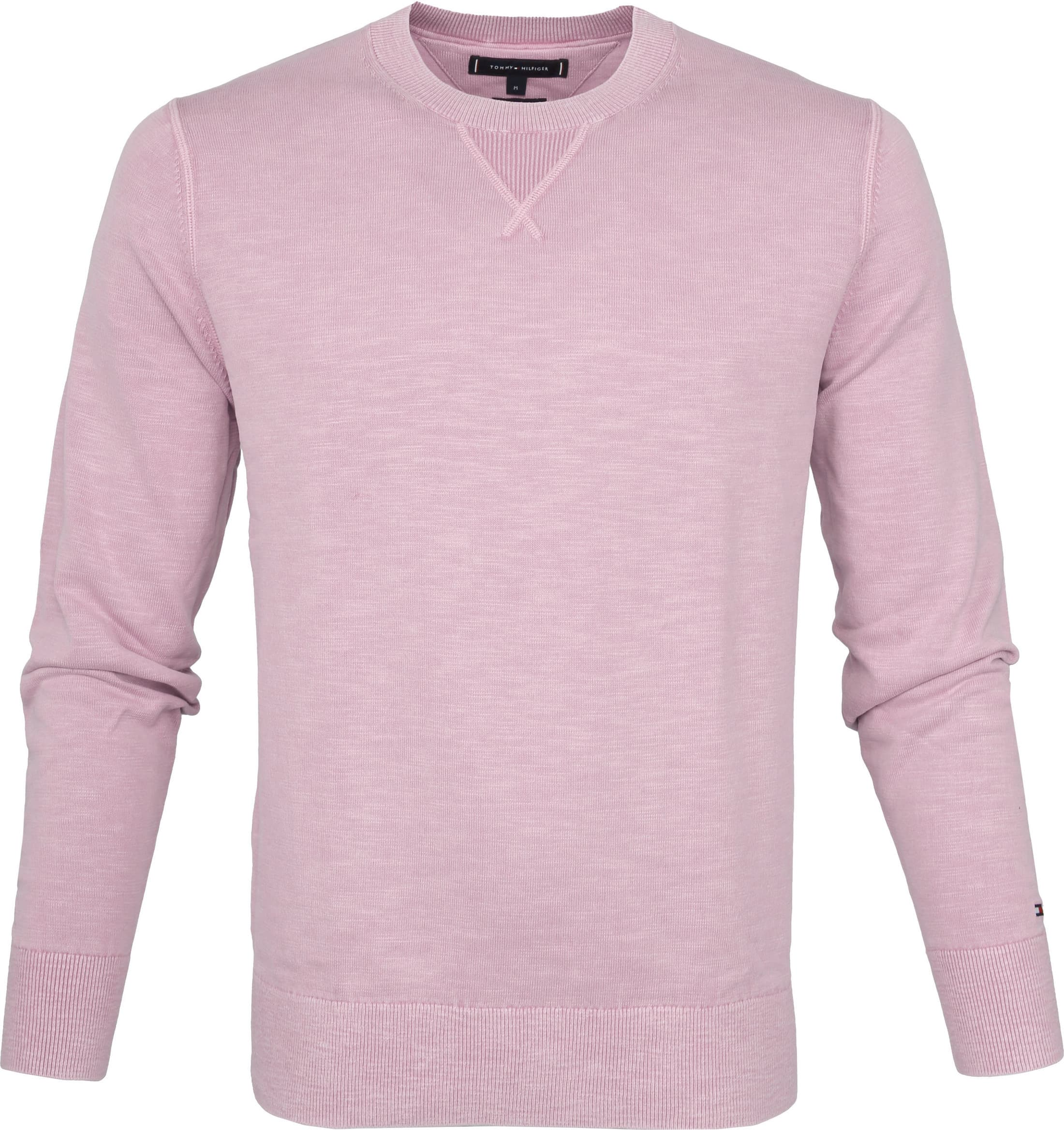 Tommy Hilfiger Pullover Dyed Lila foto 0