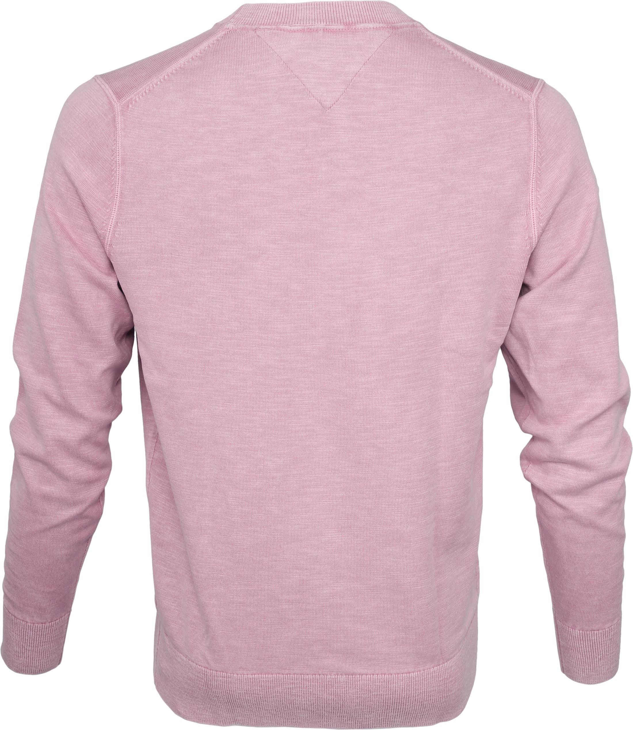 Tommy Hilfiger Pullover Dyed Lila foto 3