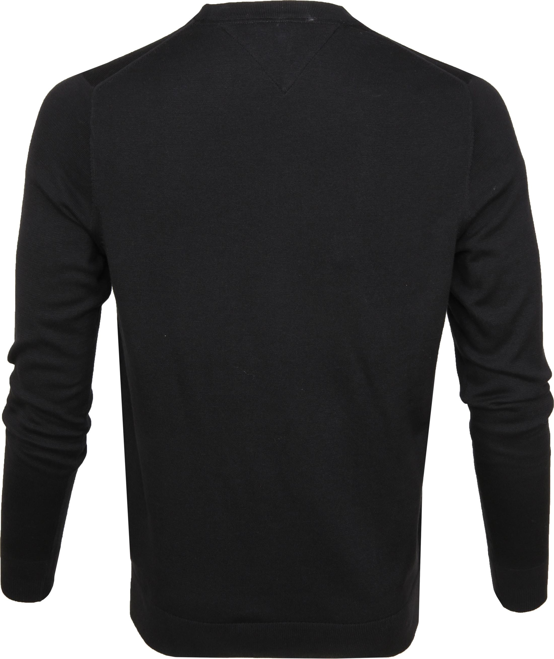 Tommy Hilfiger Pullover O-Hals Zwart