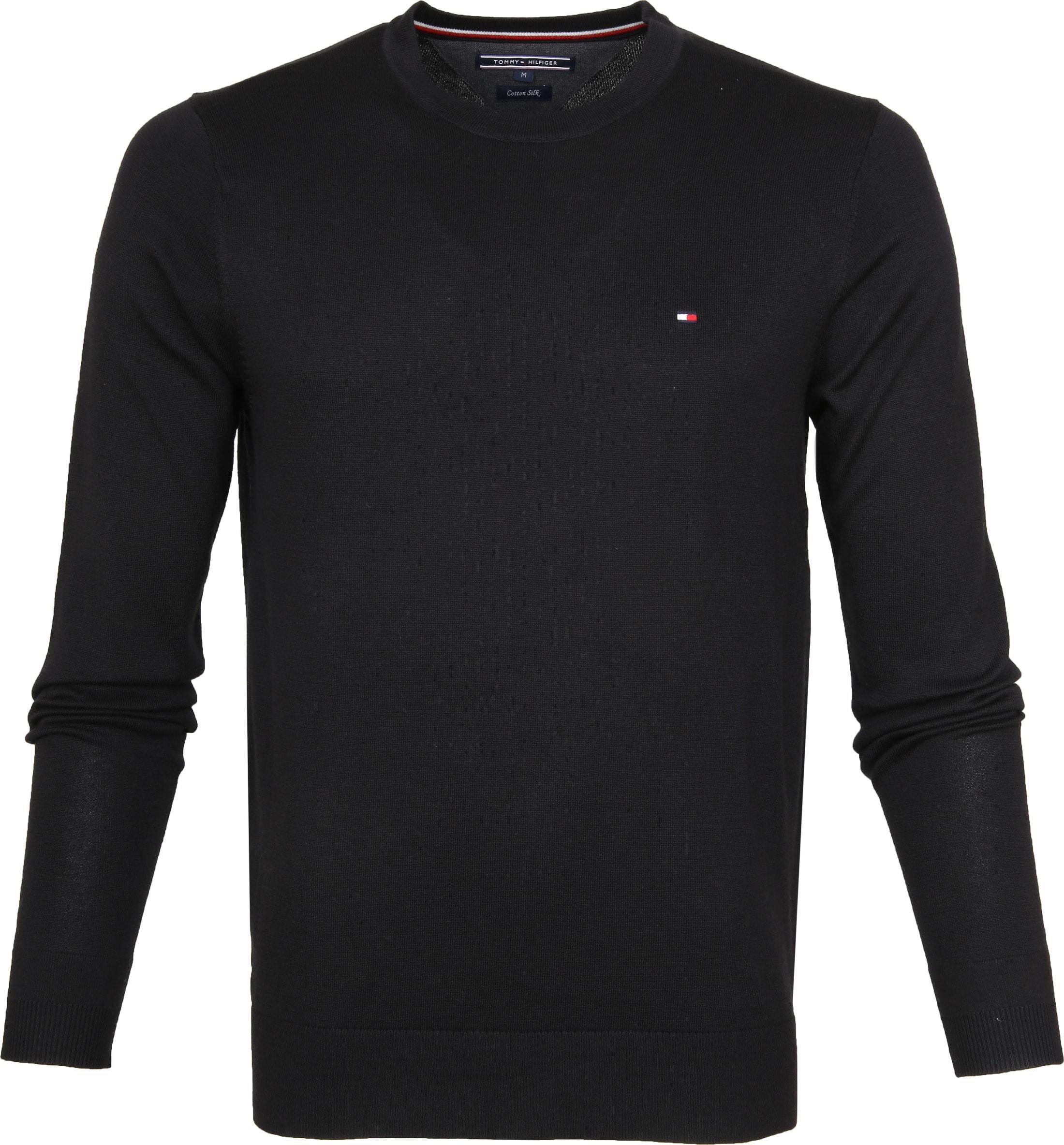 schwarze pullover von tommy hilfiger