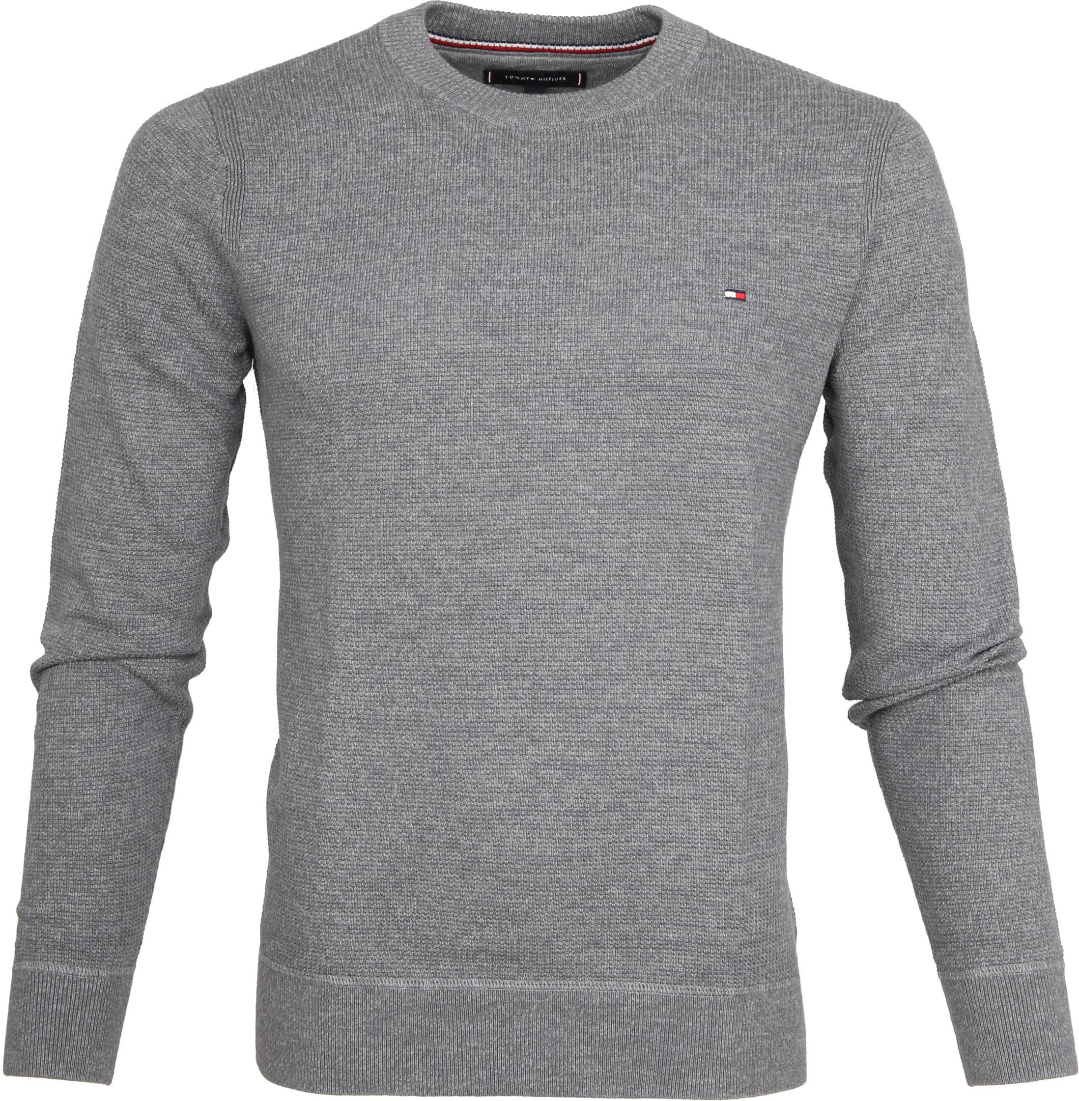 Tommy Hilfiger Pullover Struct Grey MW0MW07865043-043 online ... c2a0e3673a