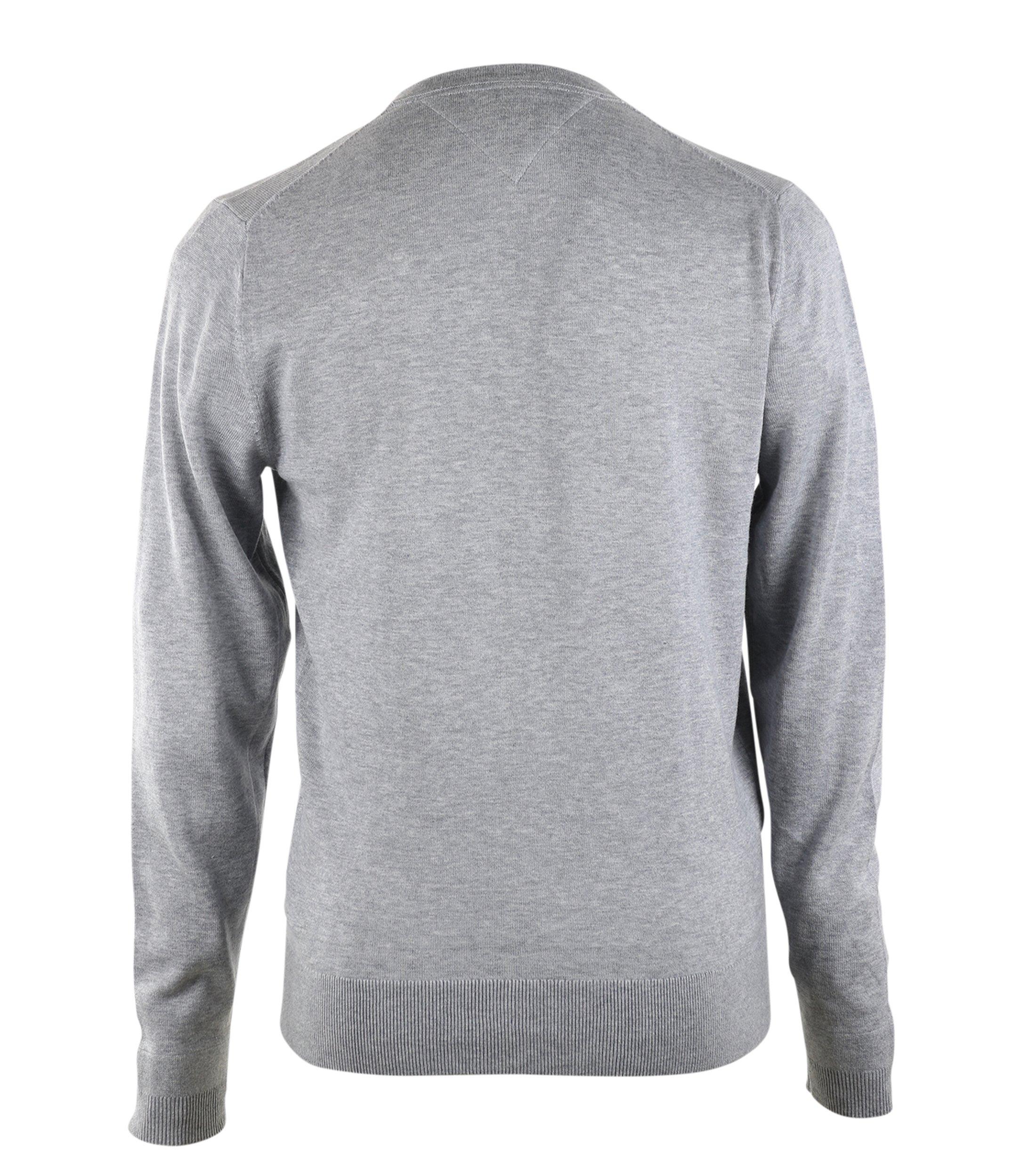 tommy hilfiger pullover v ausschnitt grau online kaufen. Black Bedroom Furniture Sets. Home Design Ideas