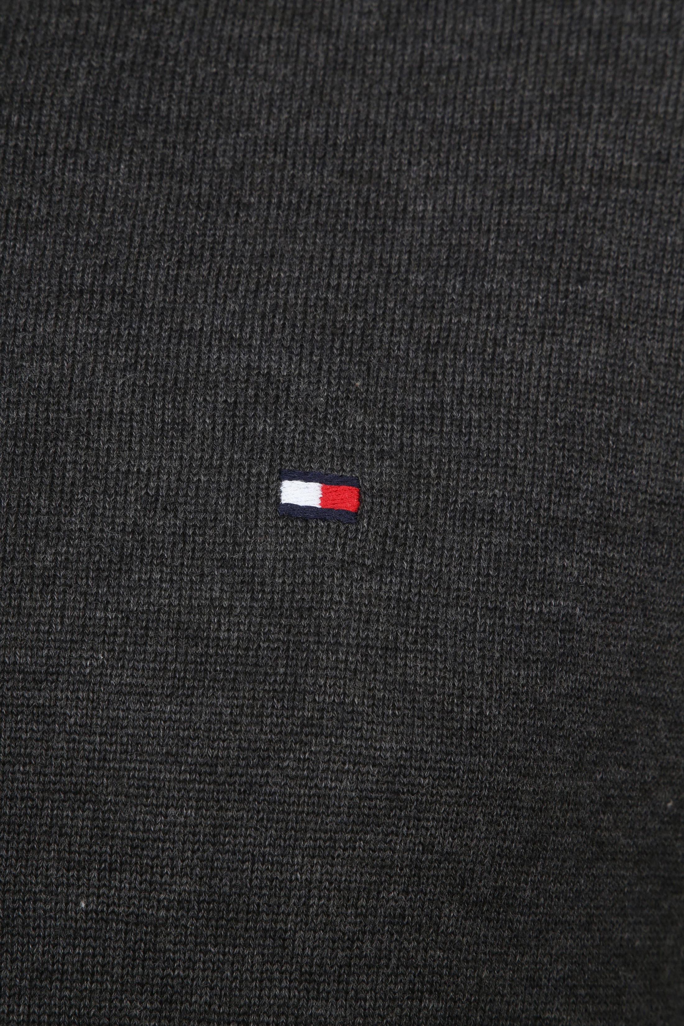 Tommy Hilfiger Pullover V-Hals Antraciet foto 1