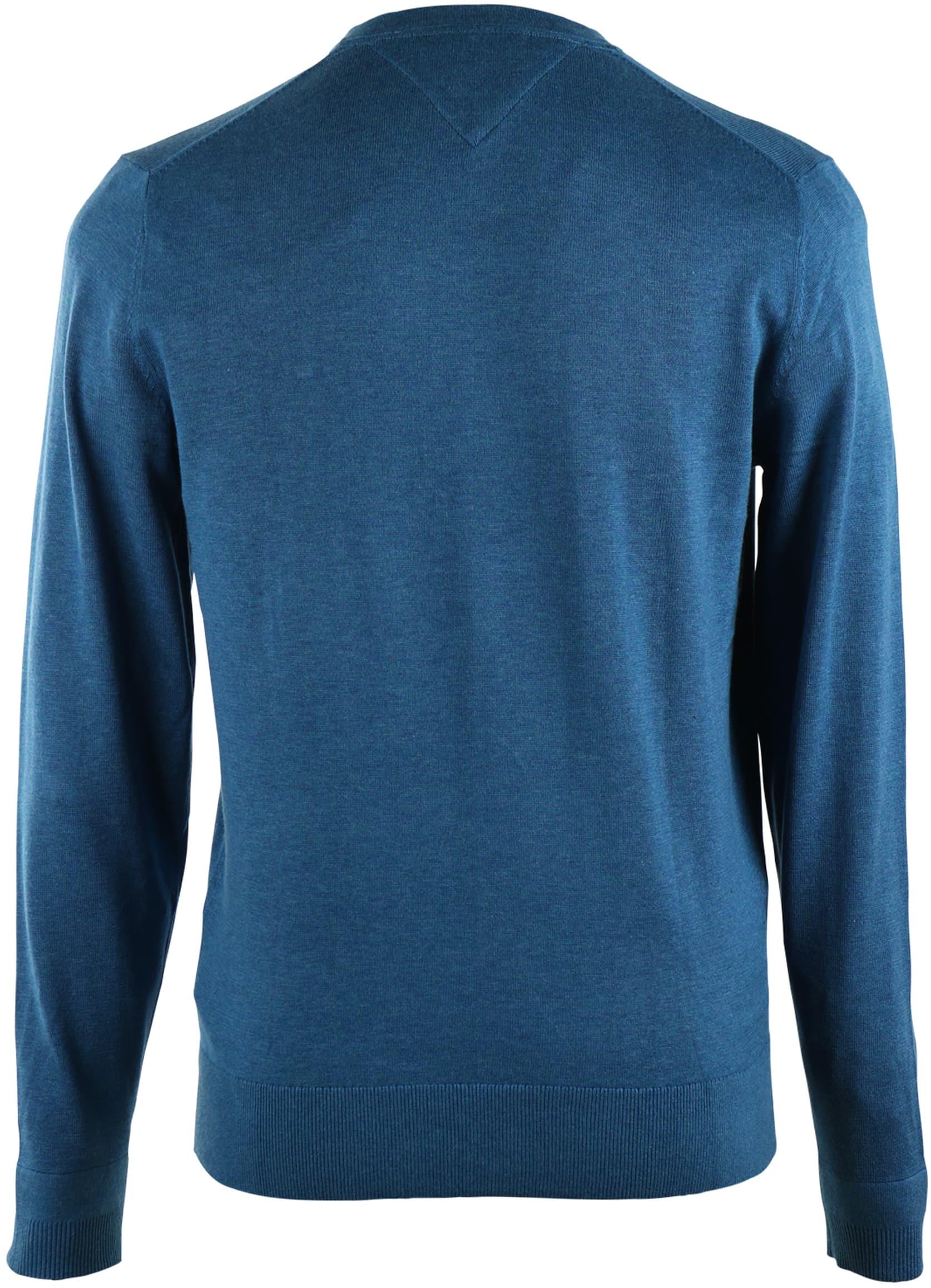 Tommy Hilfiger Pullover V-Hals Teal foto 1
